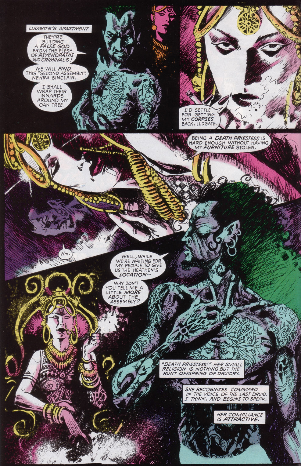 Read online Druid comic -  Issue #3 - 5