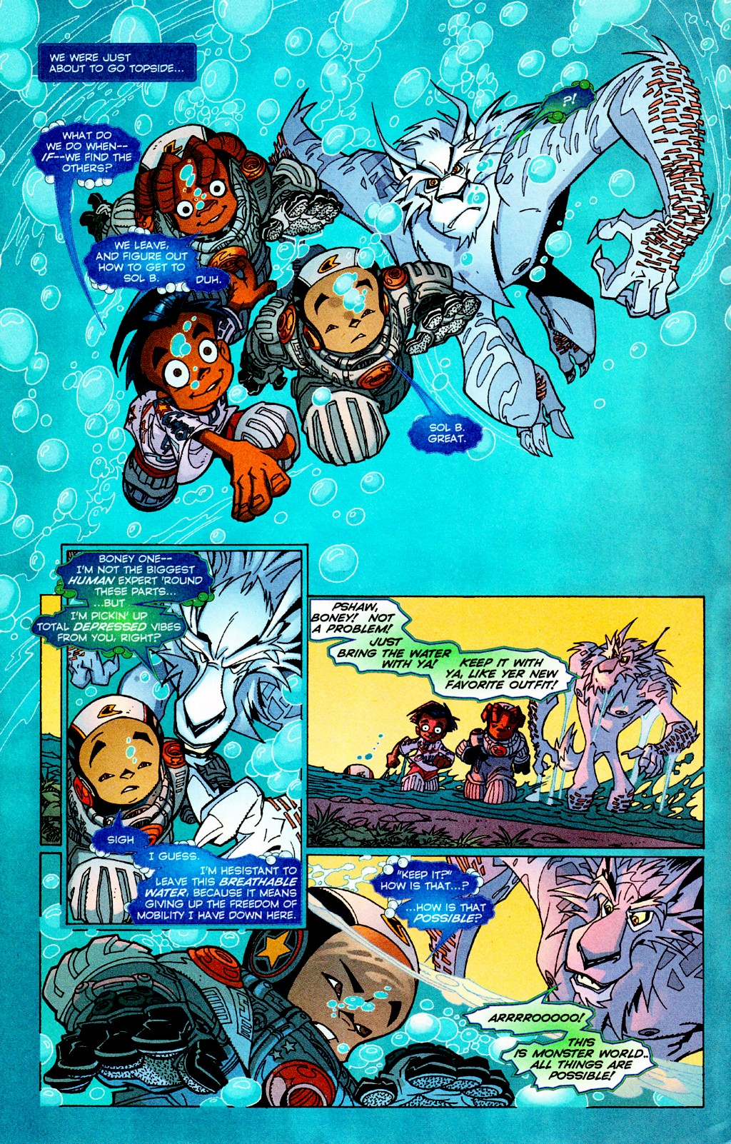 Read online Monster World (Existed) comic -  Issue #3 - 17