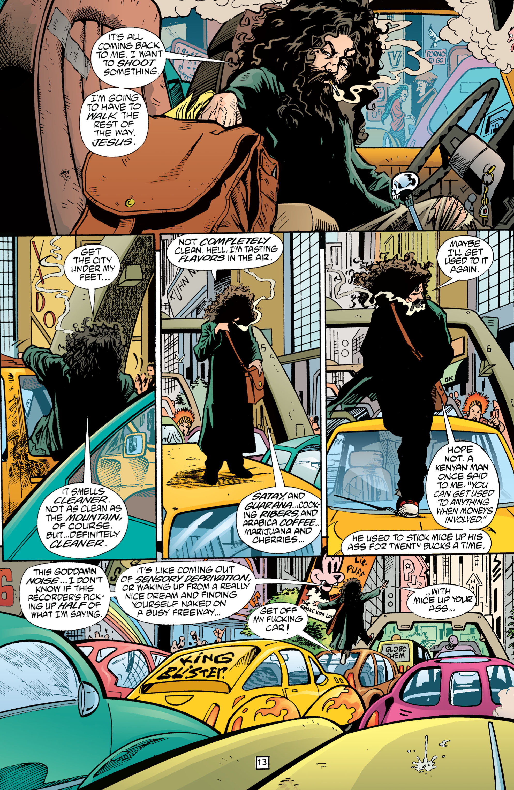 Read online Transmetropolitan comic -  Issue #1 - 14