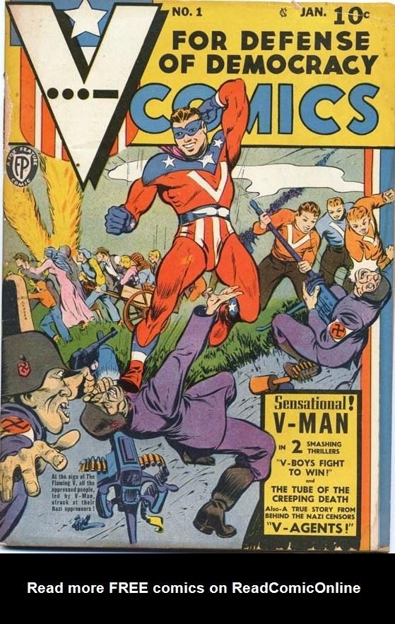 Read online V...- Comics comic -  Issue #1 - 1