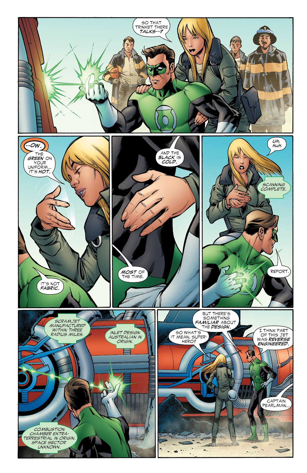 Read online Green Lantern by Geoff Johns comic -  Issue # TPB 1 (Part 4) - 27