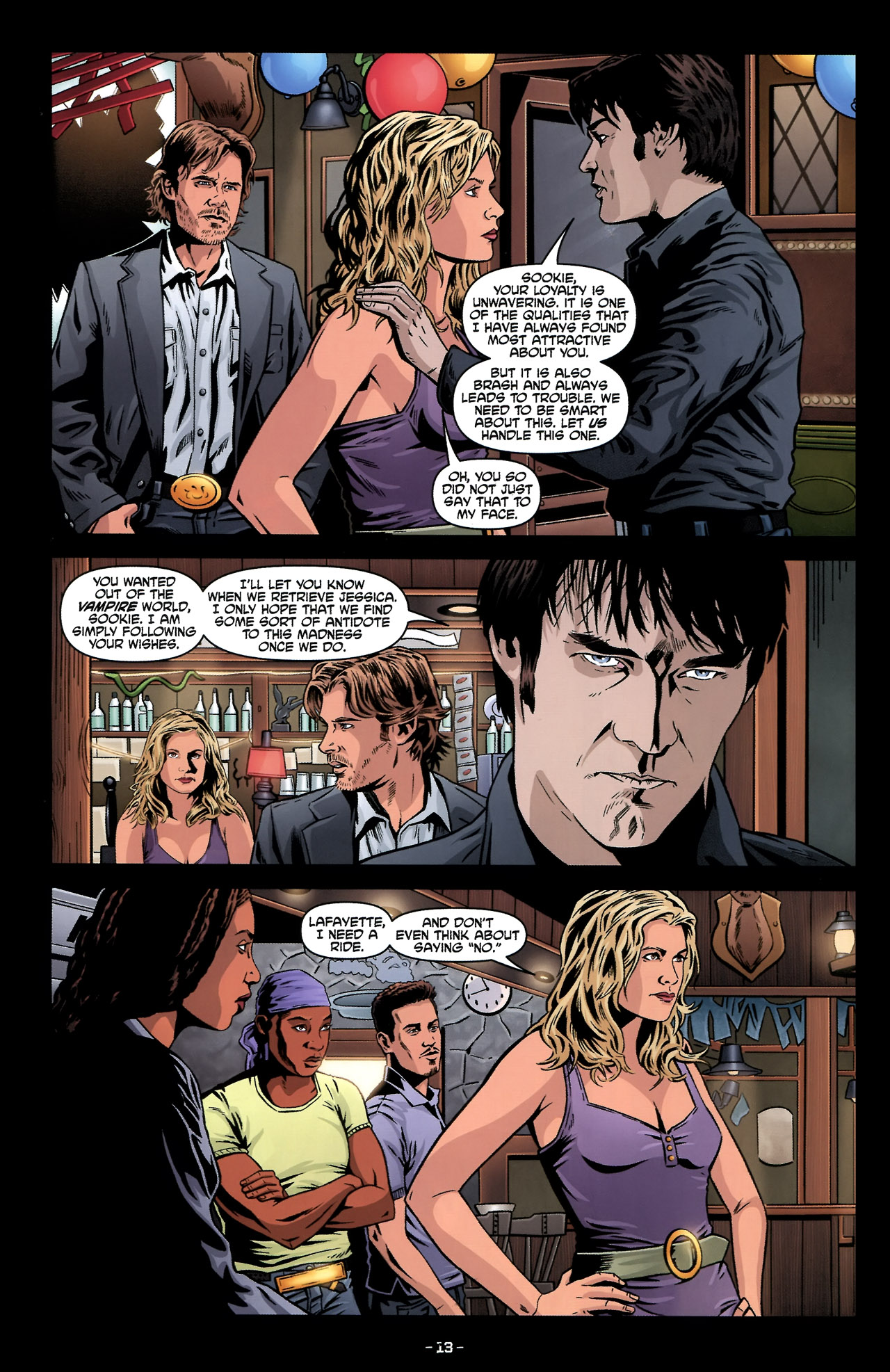 Read online True Blood: Tainted Love comic -  Issue #2 - 17