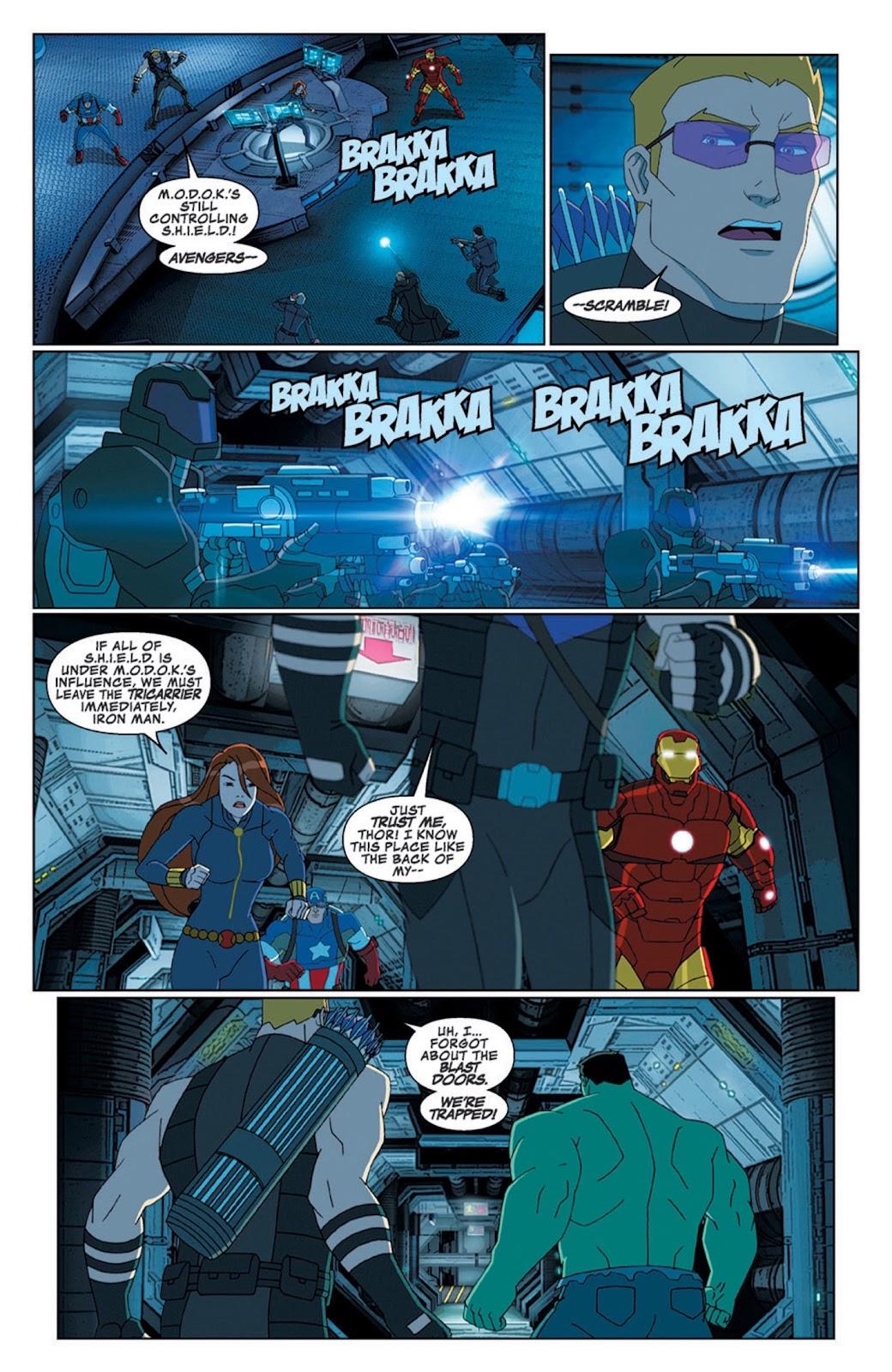 Read online Marvel Universe Avengers Assemble Season 2 comic -  Issue #8 - 14