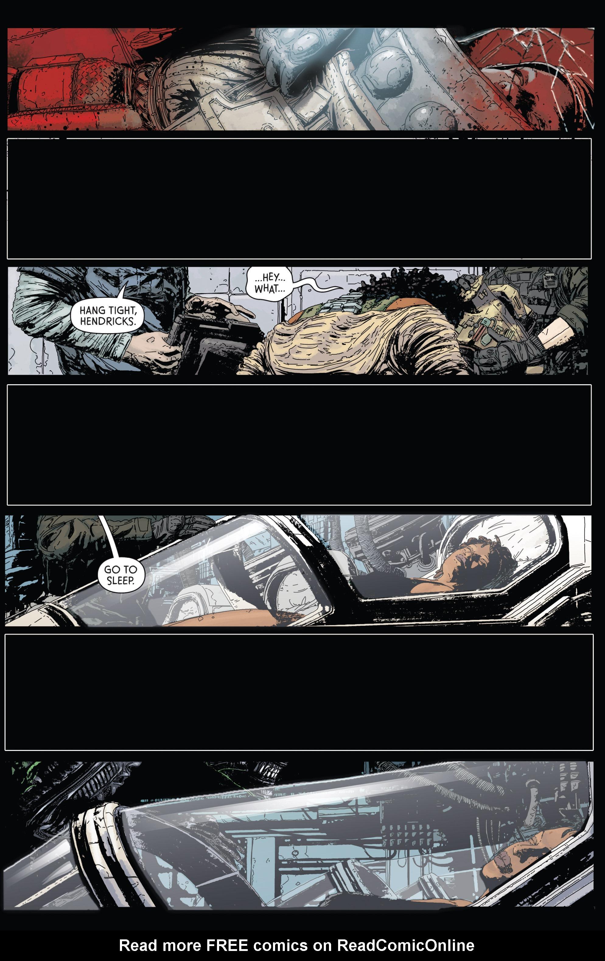 Read online Aliens: Defiance comic -  Issue #1 - 20