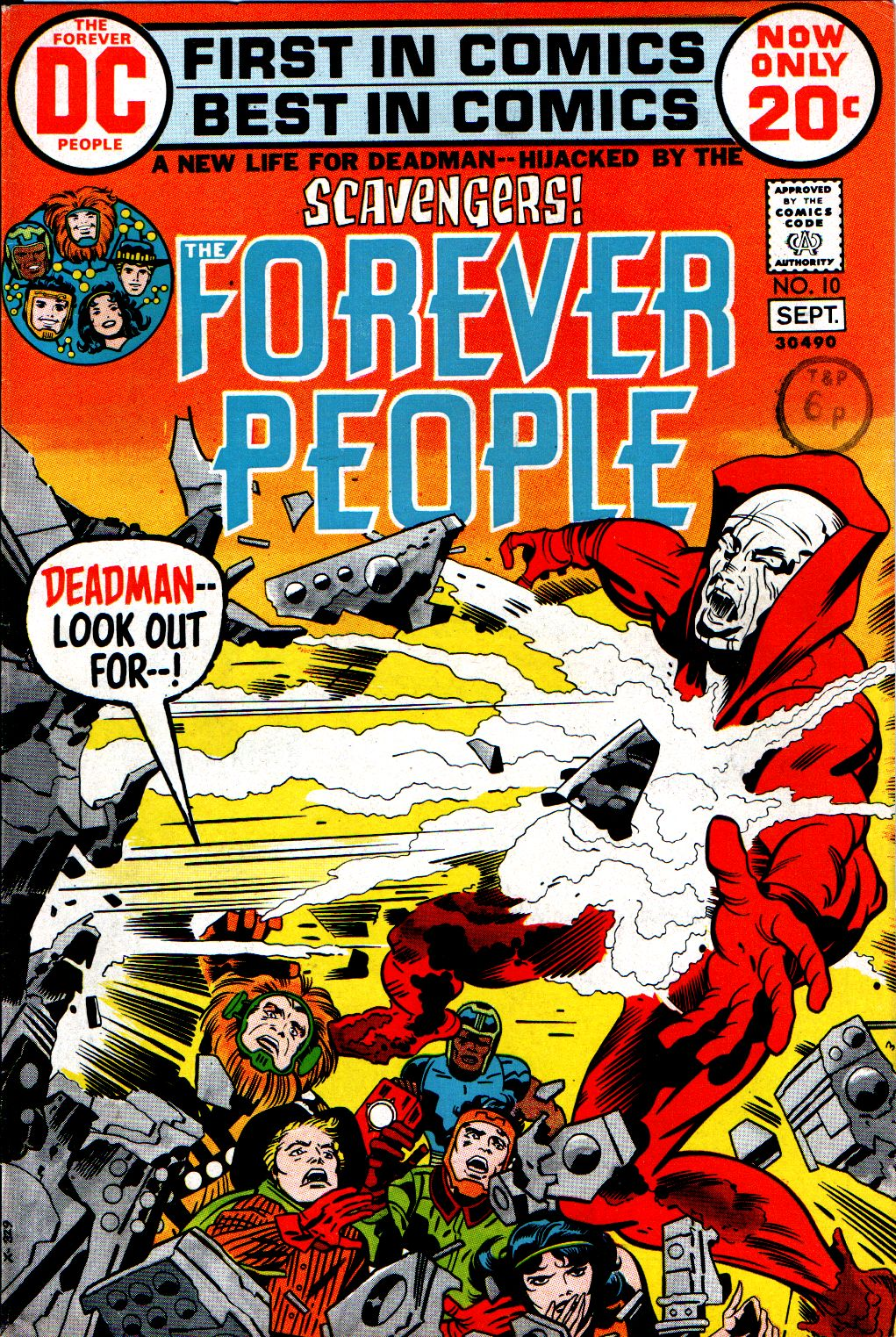 Forever People (1971) issue 10 - Page 1