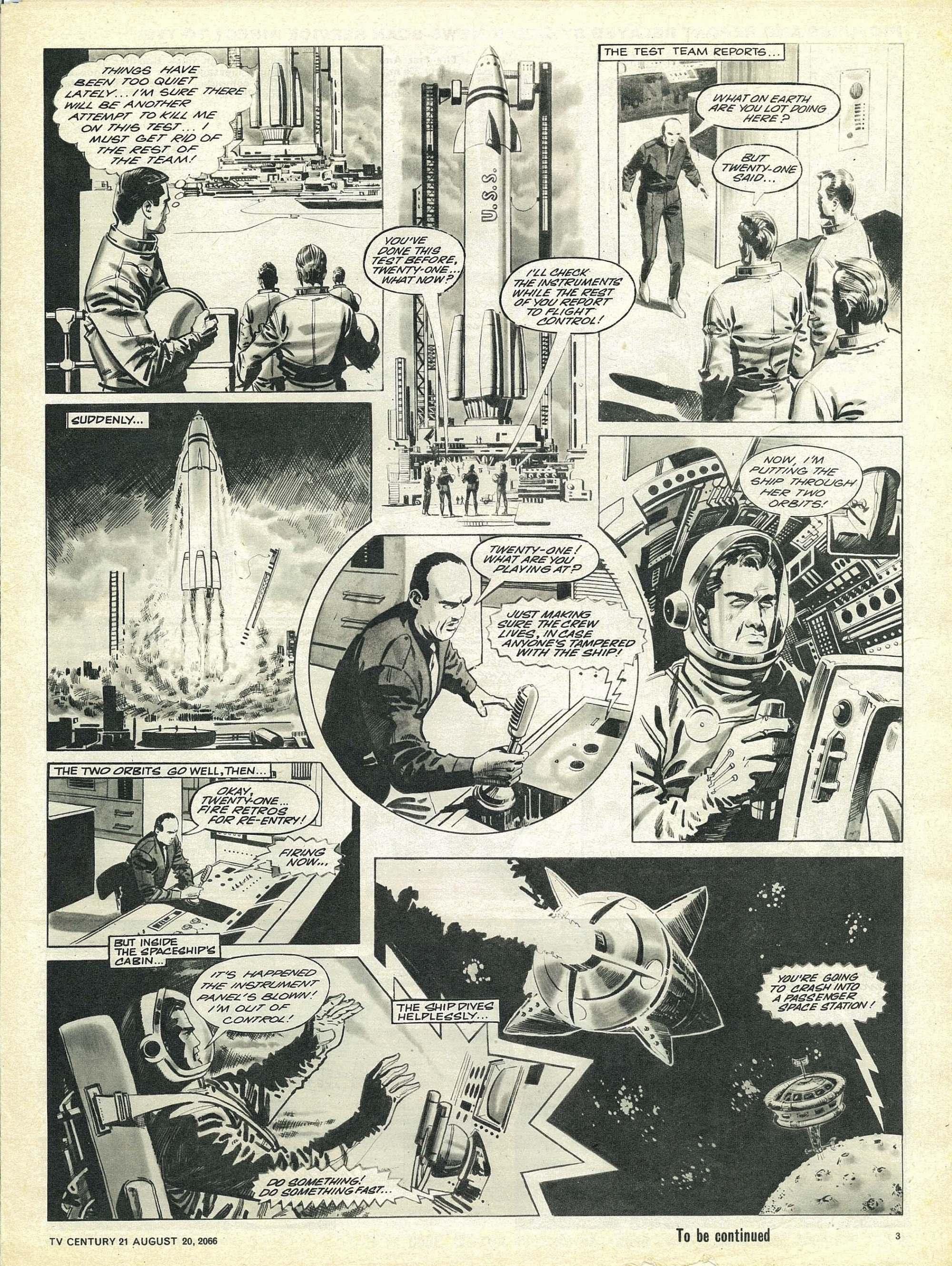 Read online TV Century 21 (TV 21) comic -  Issue #83 - 3