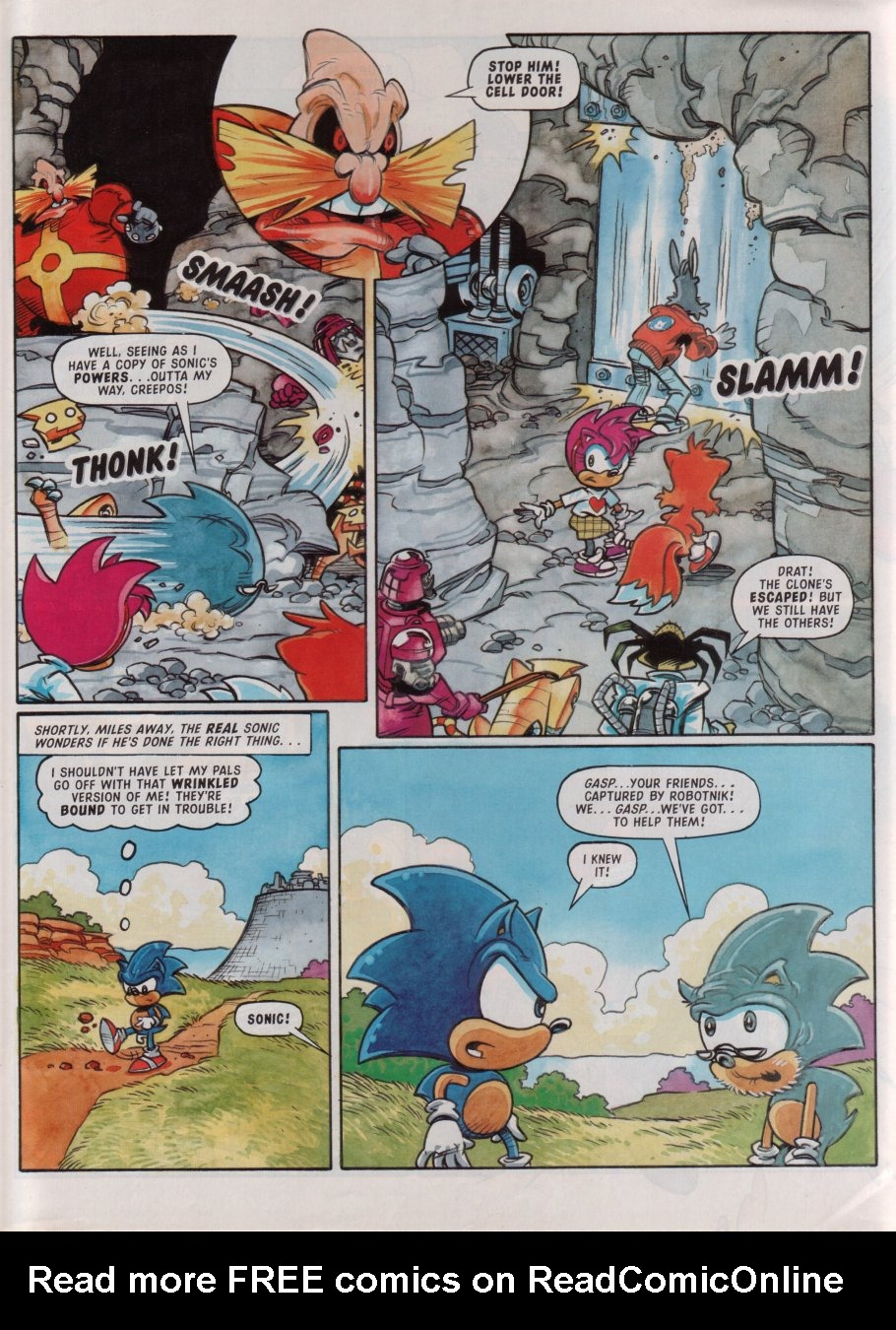 Read online Sonic the Comic comic -  Issue #88 - 29