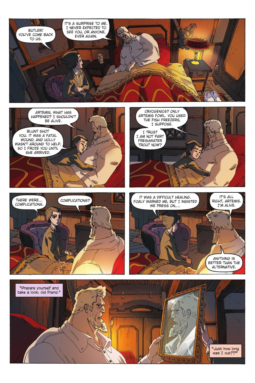 Artemis Fowl: The Eternity Code issue TPB - Page 57