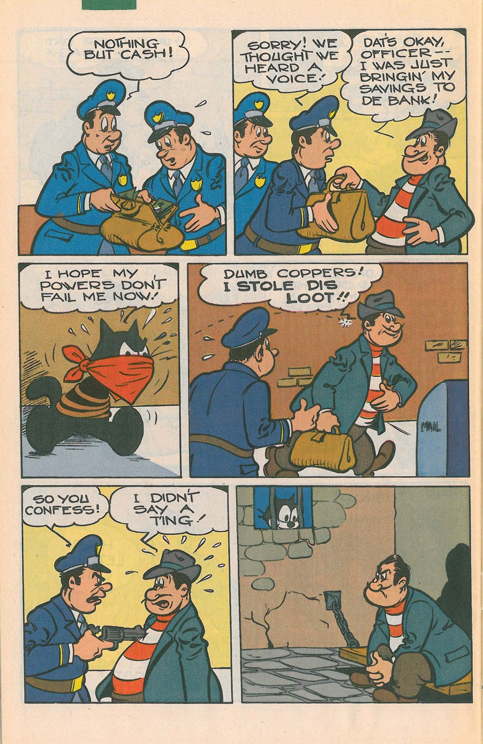Read online Felix the Cat comic -  Issue #4 - 31