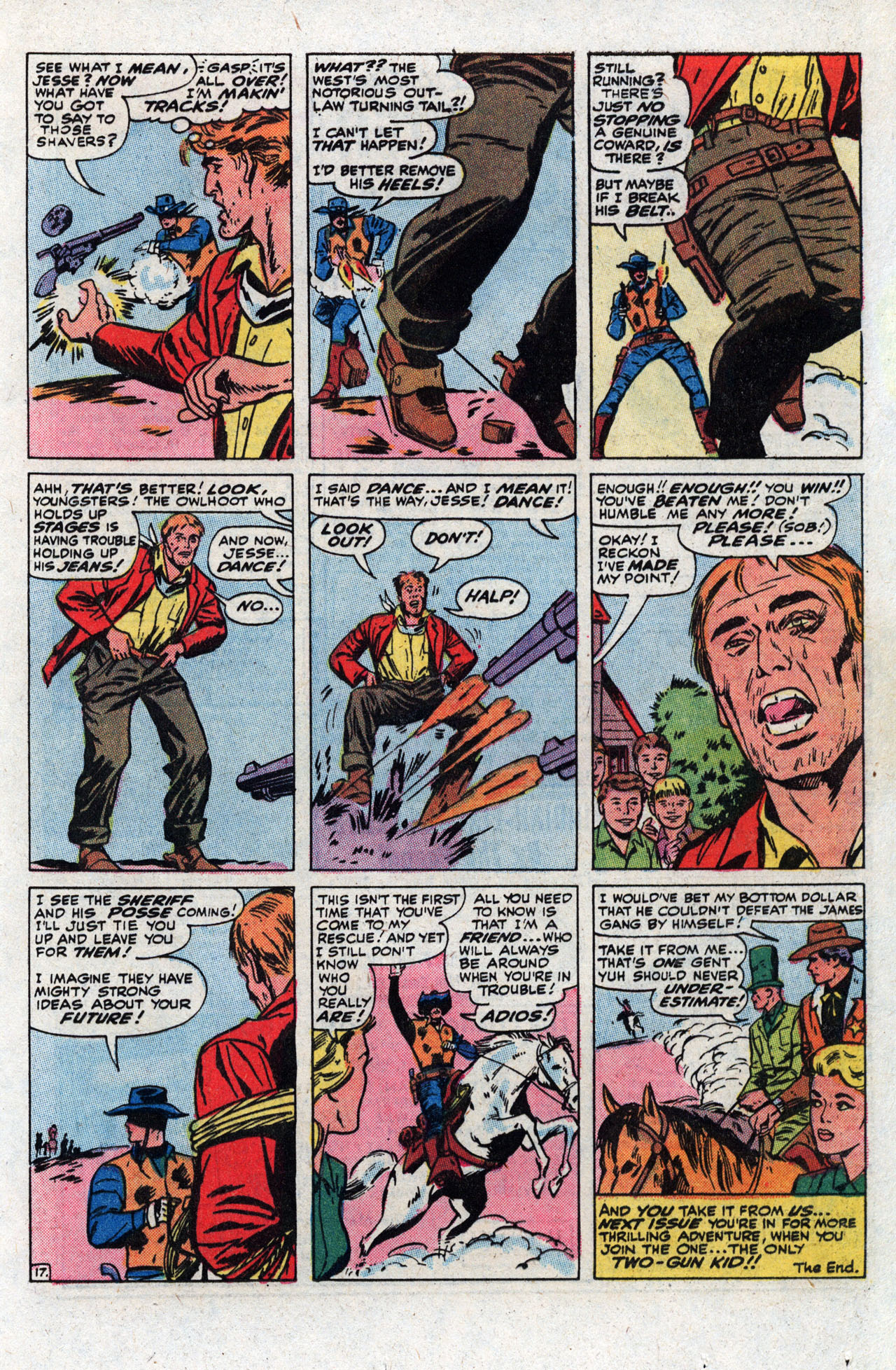 Read online Two-Gun Kid comic -  Issue #111 - 25
