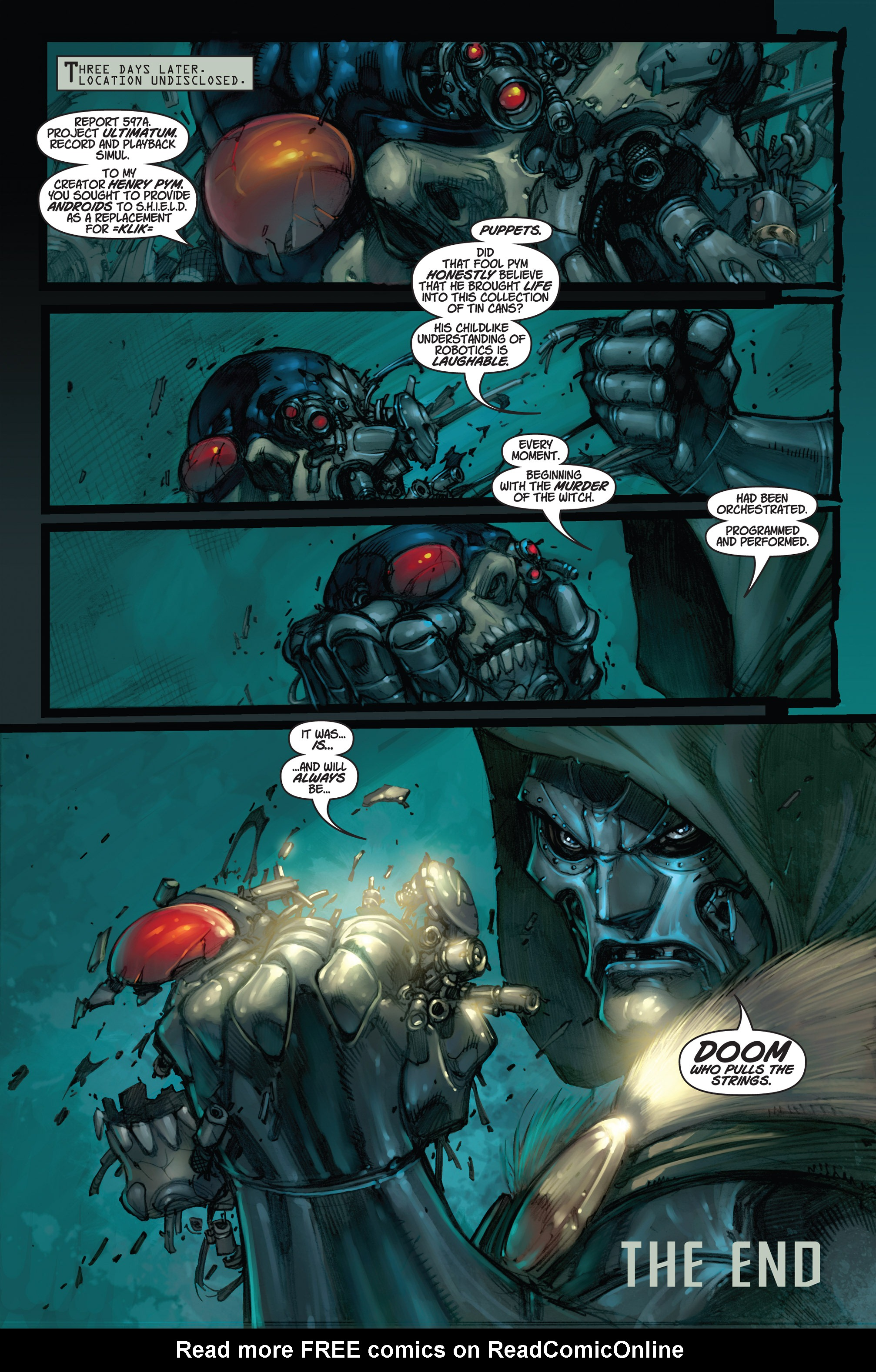 Read online Ultimates 3 comic -  Issue #5 - 24