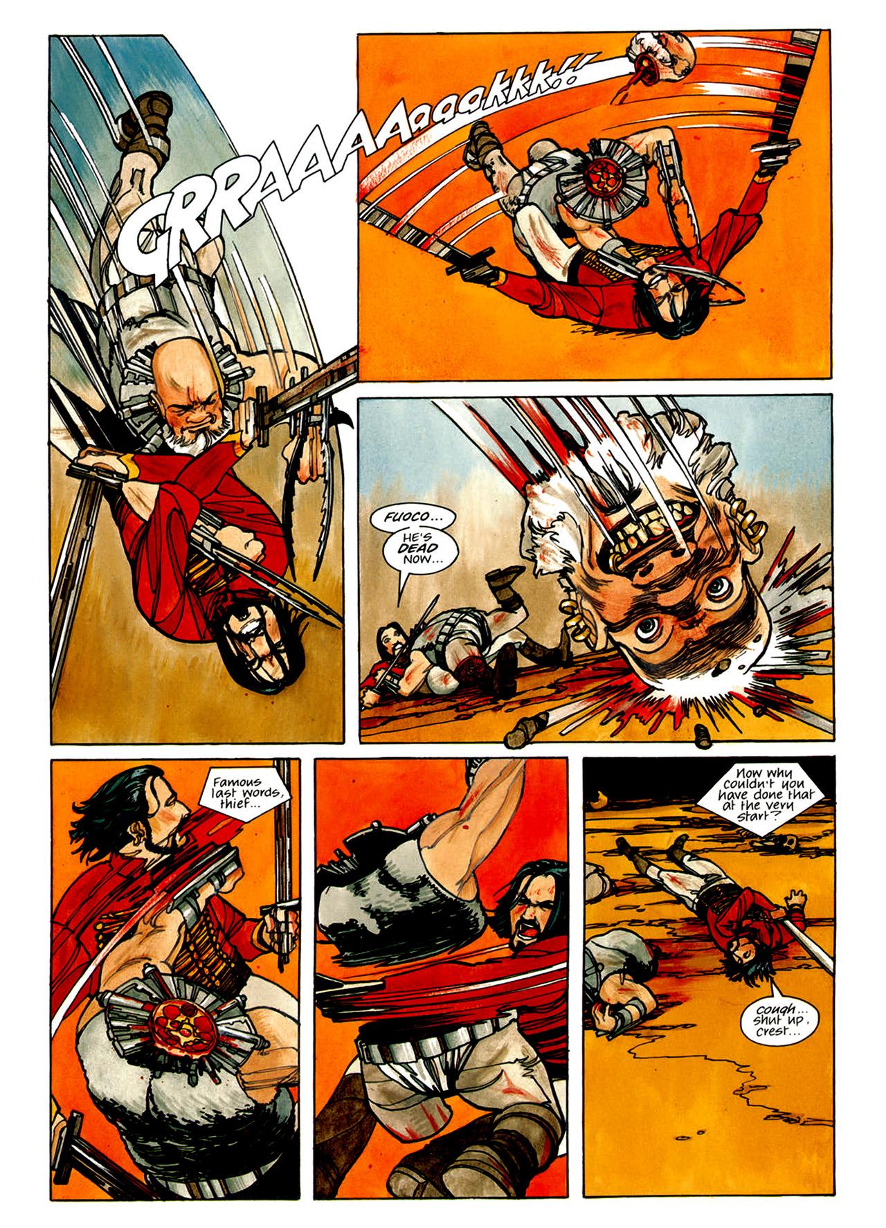 Read online Nikolai Dante comic -  Issue # TPB 1 - 84