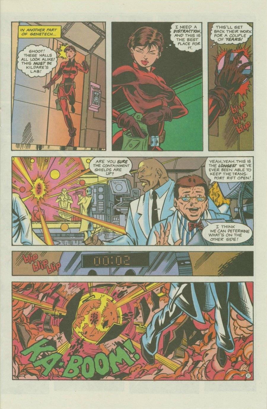Read online Ex-Mutants comic -  Issue #8 - 15