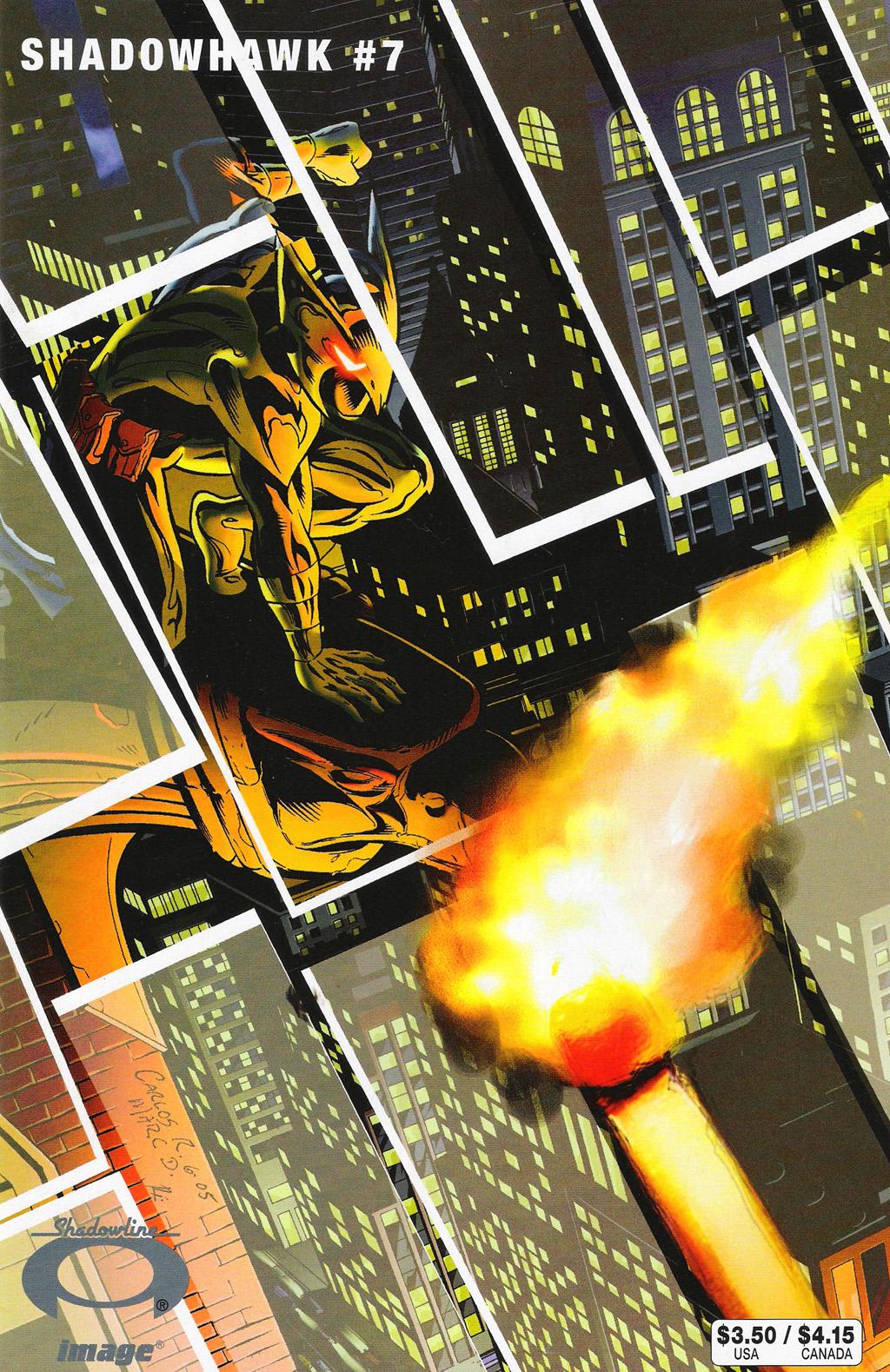 Read online ShadowHawk (2005) comic -  Issue #7 - 1