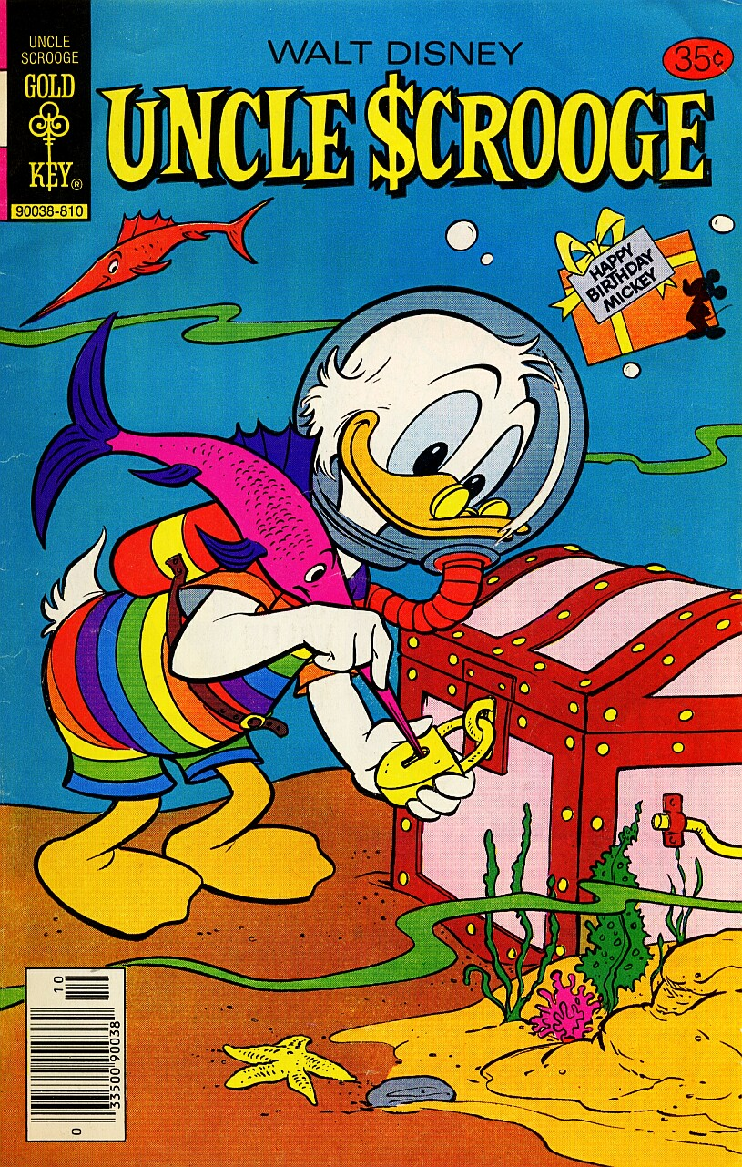 Read online Uncle Scrooge (1953) comic -  Issue #157 - 1