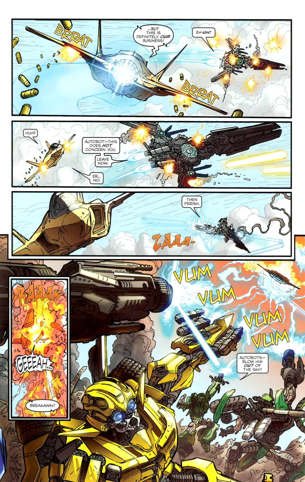 Read online Transformers: Nefarious comic -  Issue #1 - 22