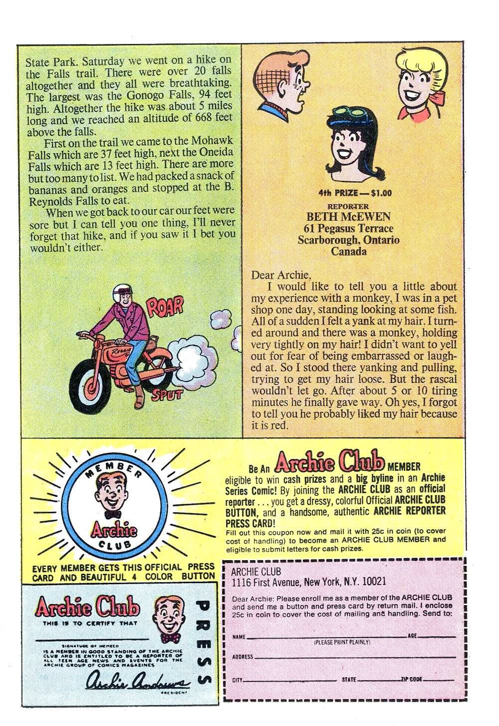 Read online Archie (1960) comic -  Issue #204 - 11