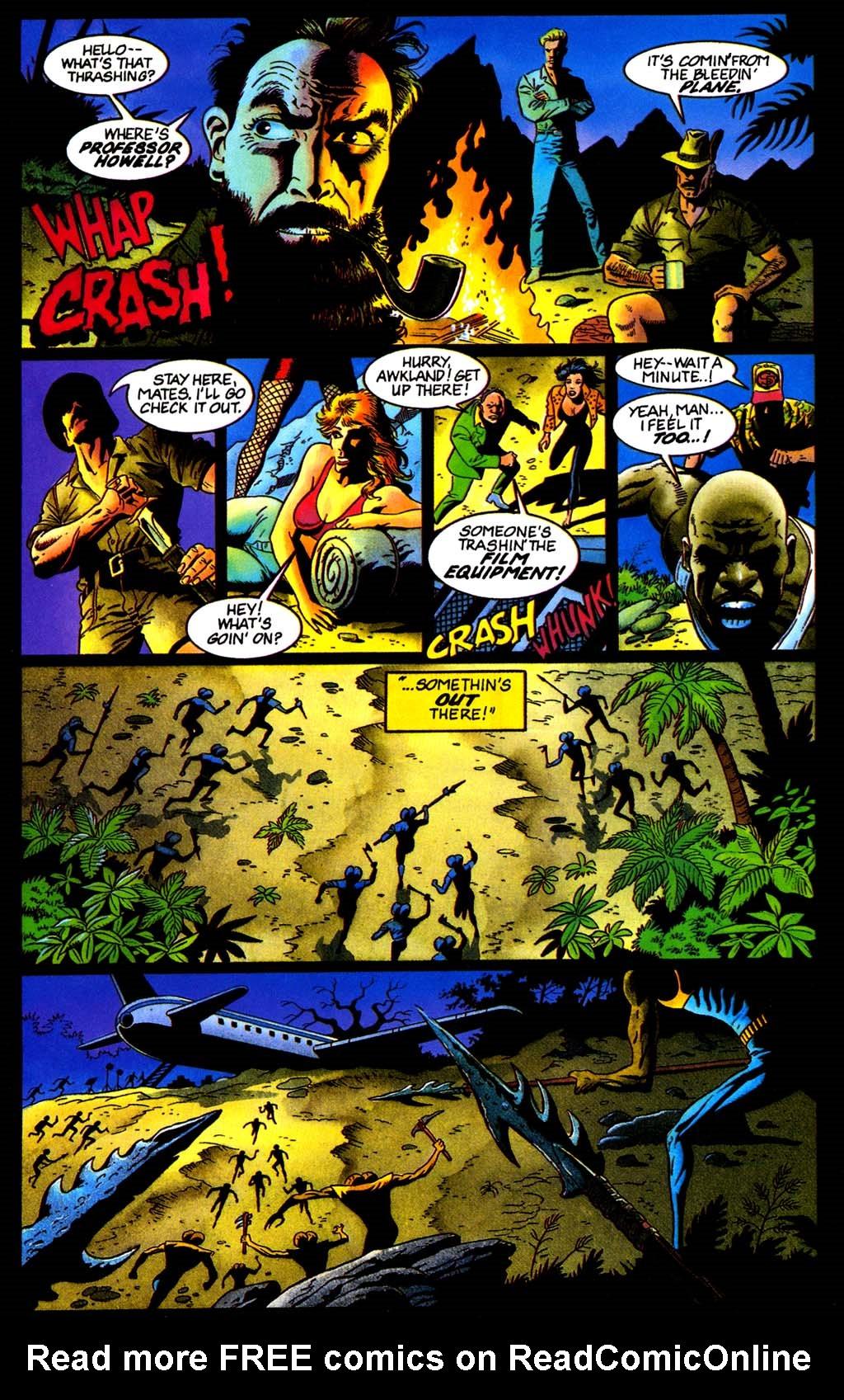 Read online Turok, Dinosaur Hunter (1993) comic -  Issue #32 - 6