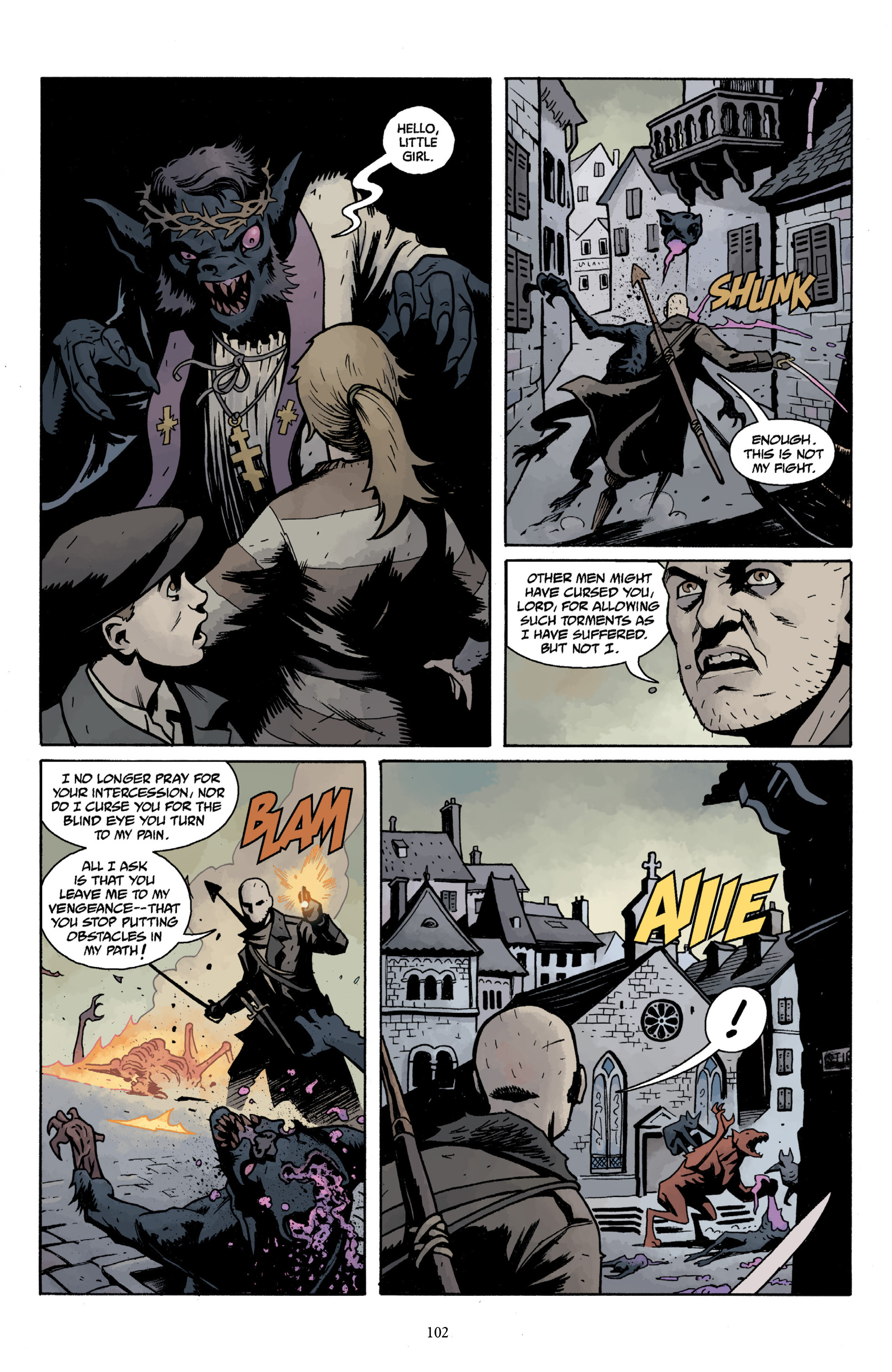 Read online Baltimore Volume 3: A Passing Stranger and Other Stories comic -  Issue # Full - 104