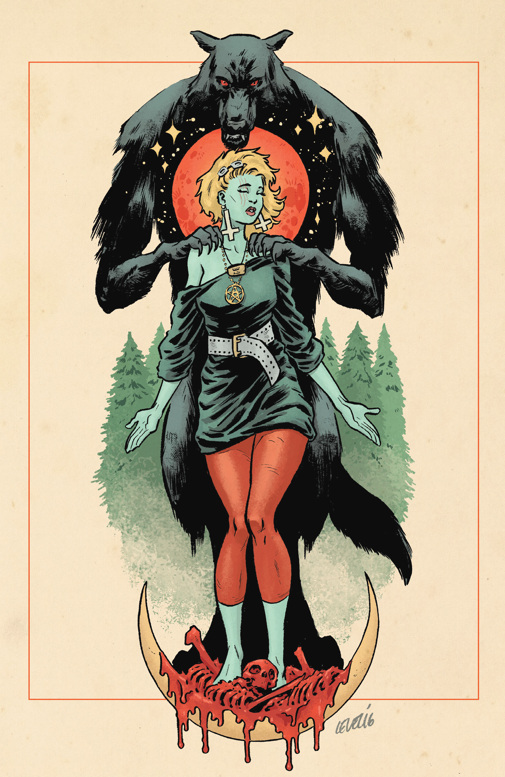 Read online She Wolf comic -  Issue #3 - 26