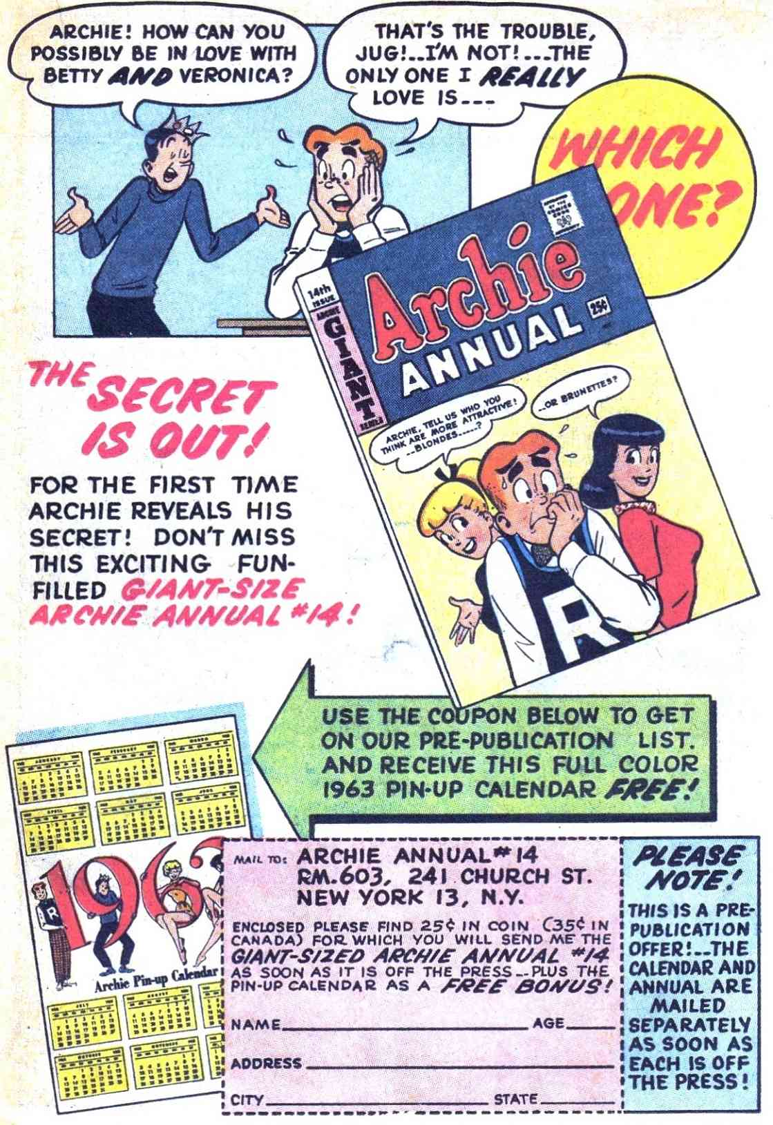 Read online Archie (1960) comic -  Issue #128 - 19