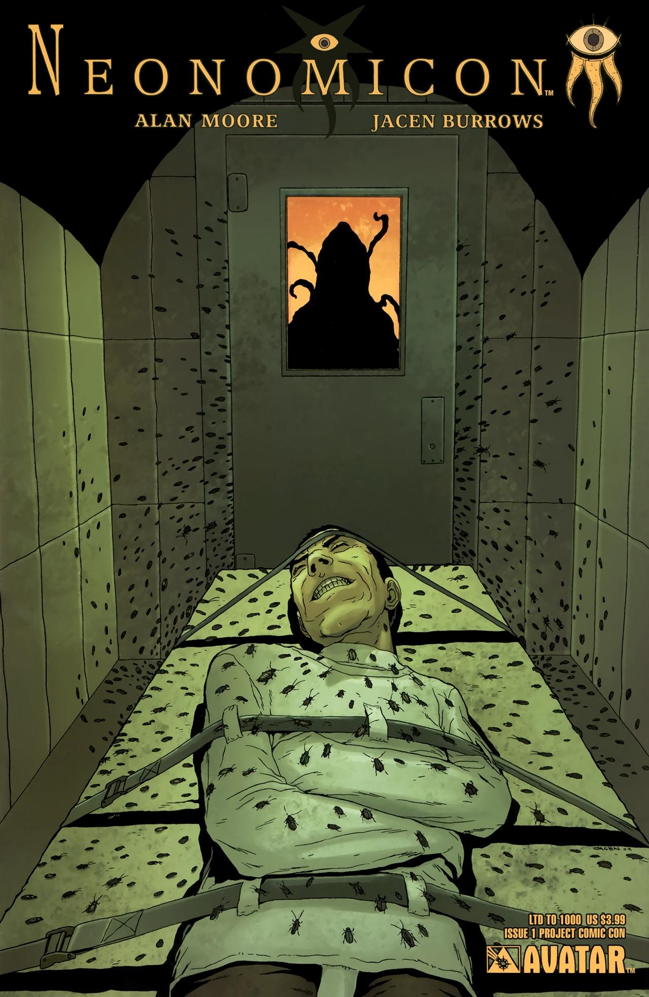 Read online Alan Moore's Neonomicon comic -  Issue #1 - 9