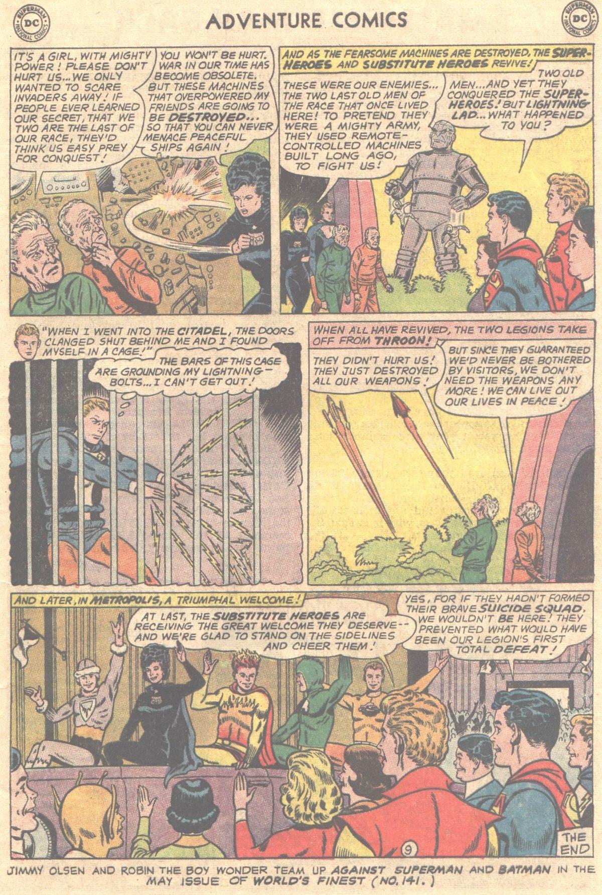 Read online Adventure Comics (1938) comic -  Issue #319 - 22