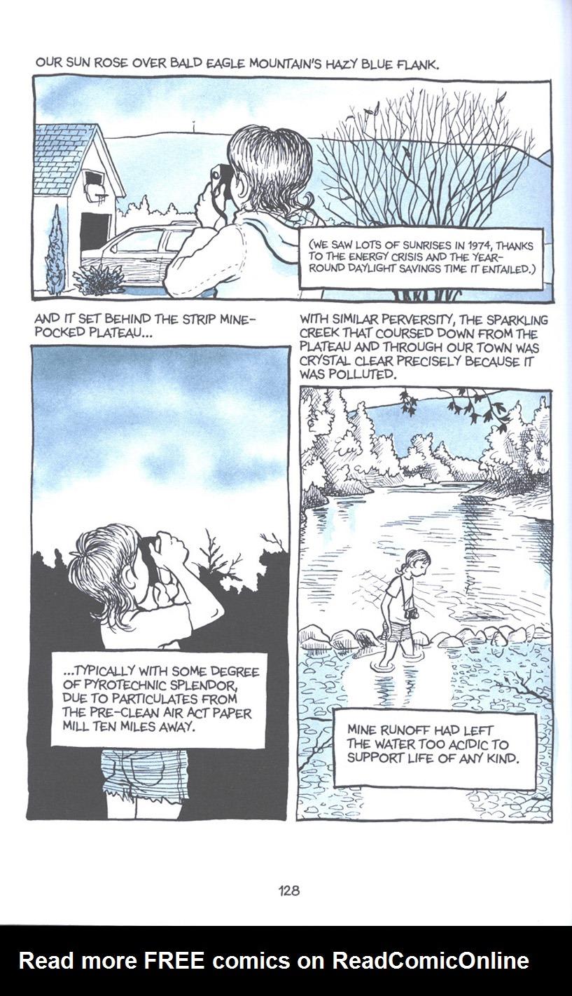 Read online Fun Home: A Family Tragicomic comic -  Issue # TPB - 134