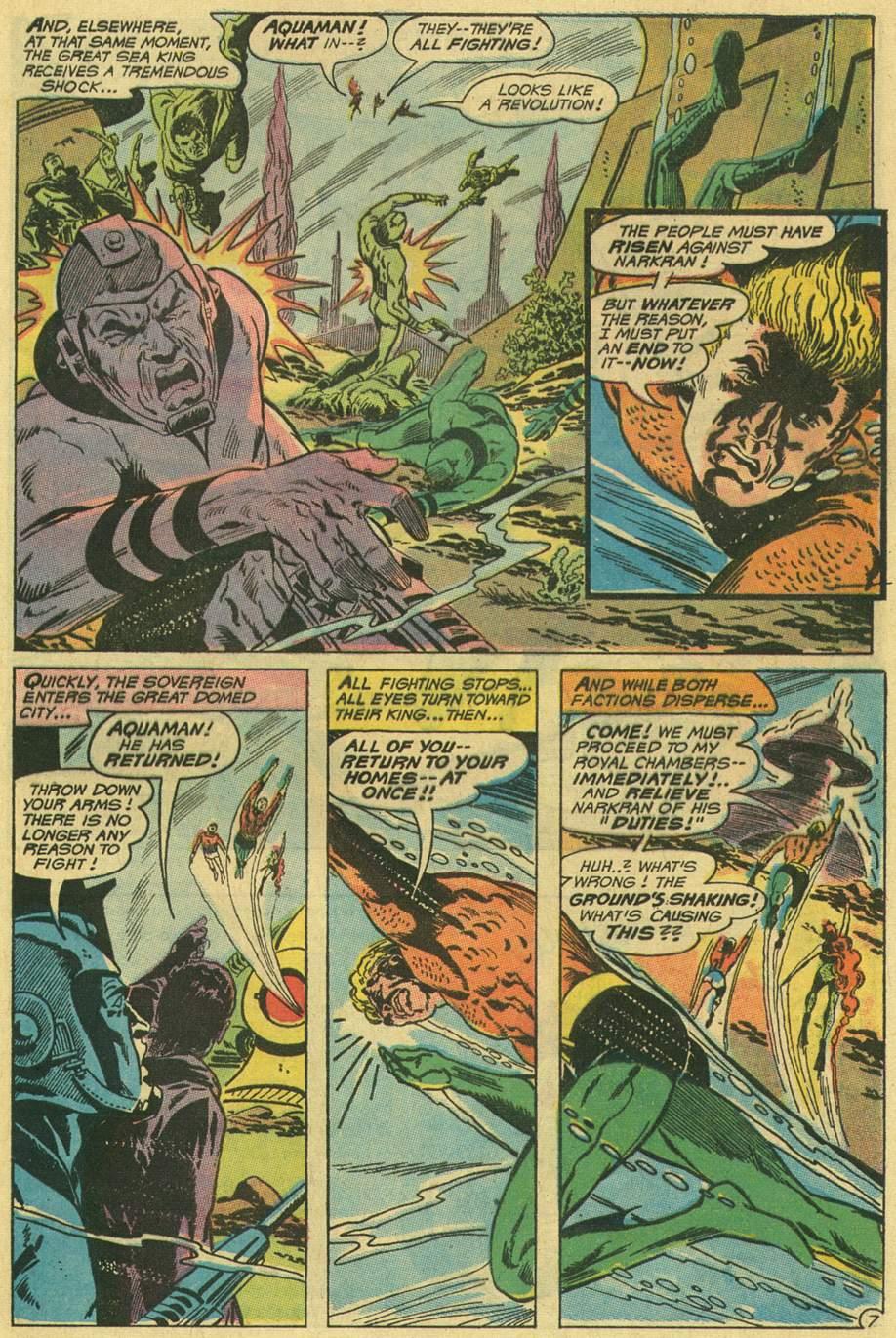 Read online Aquaman (1962) comic -  Issue #48 - 9