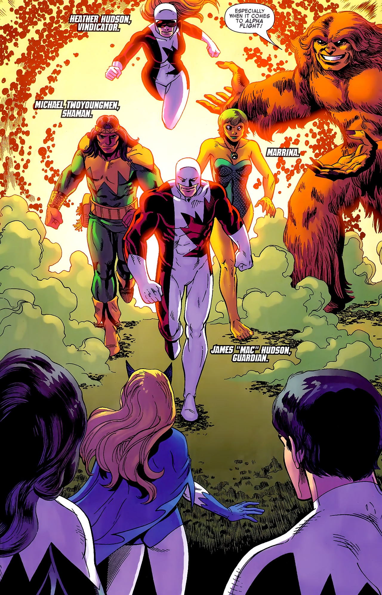 Read online Chaos War: Alpha Flight comic -  Issue # Full - 8