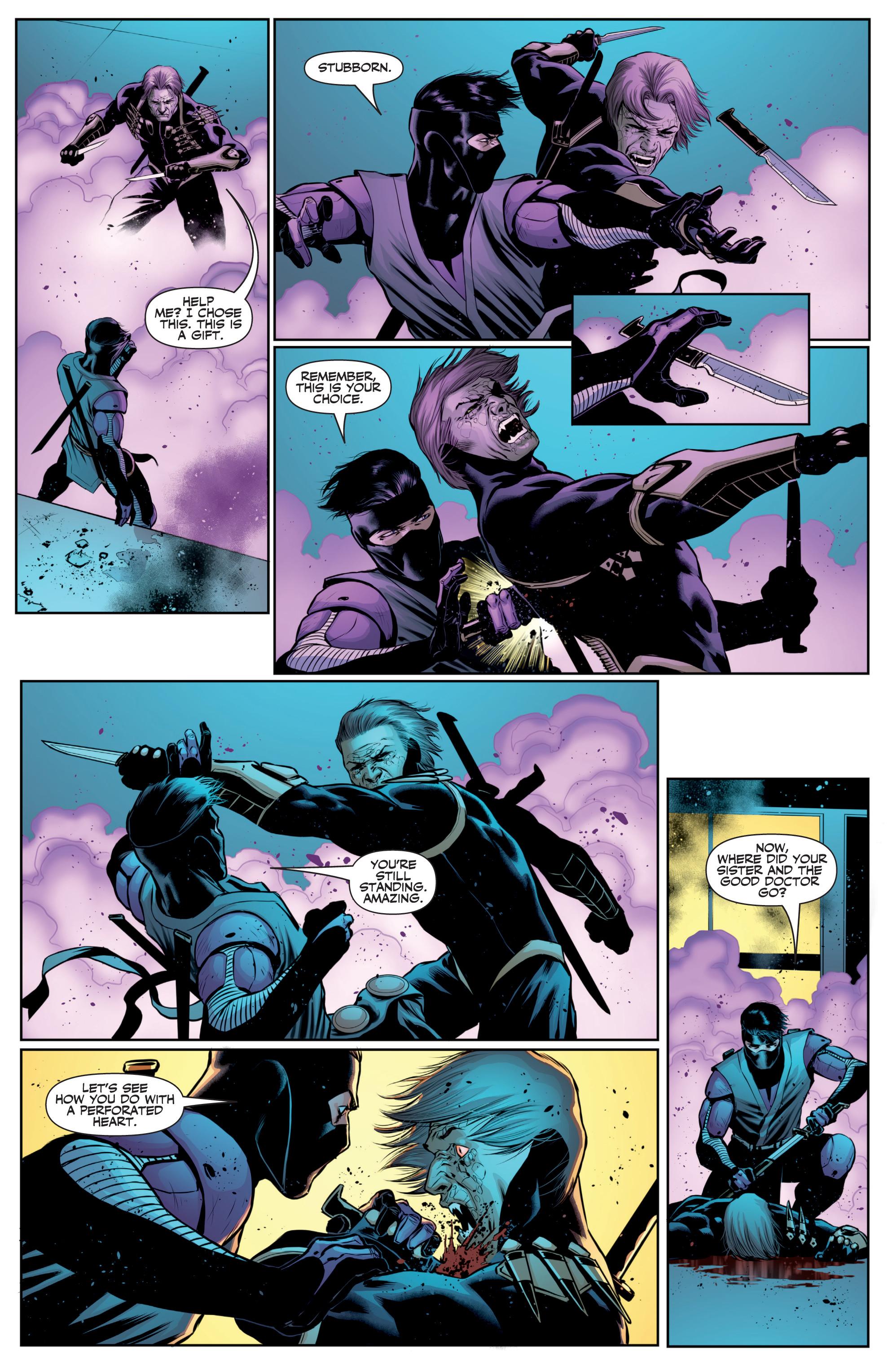Read online Ninjak (2015) comic -  Issue #27 - 19