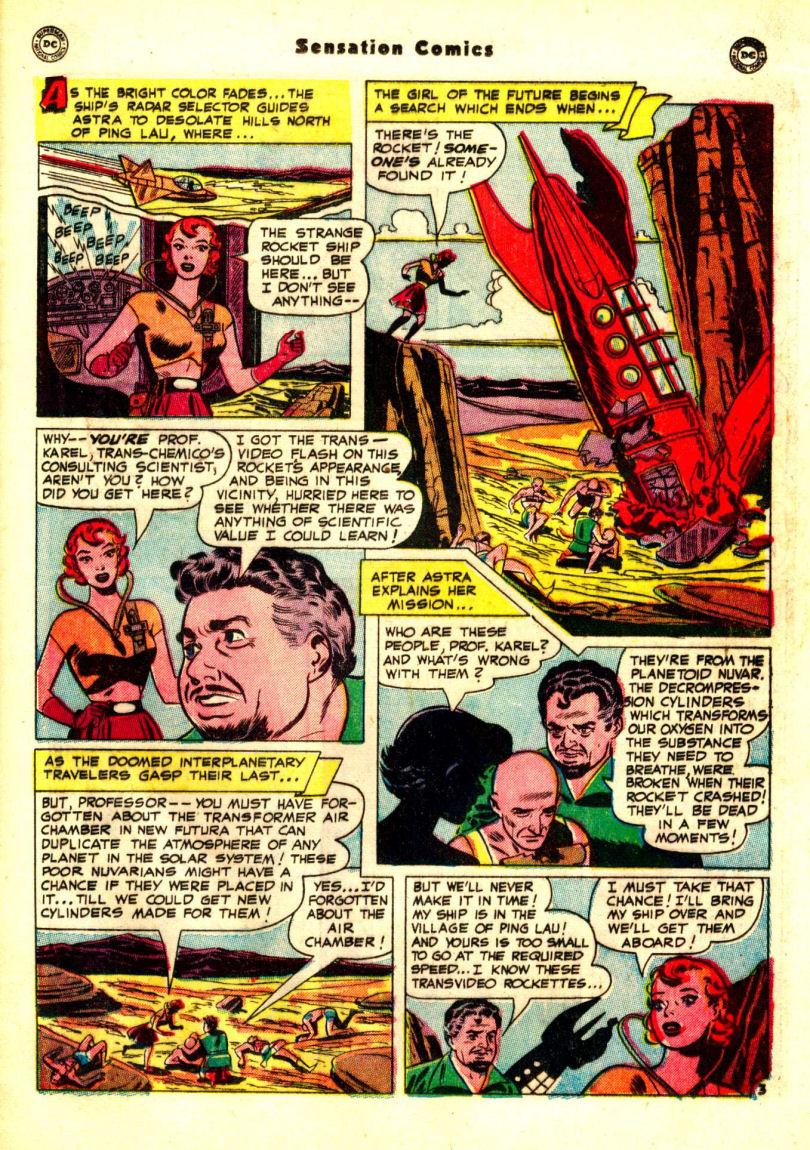 Read online Sensation (Mystery) Comics comic -  Issue #99 - 31
