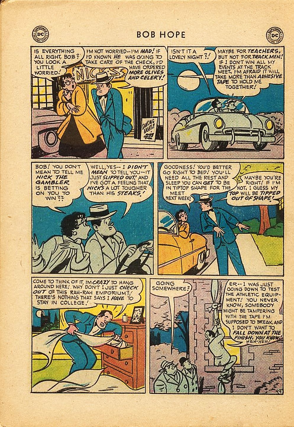 The Adventures of Bob Hope issue 42 - Page 28