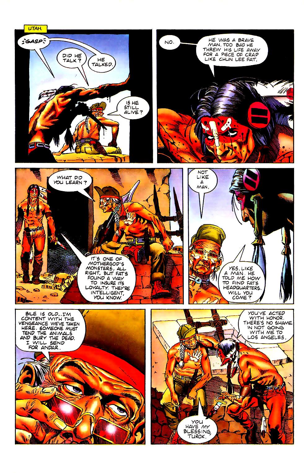 Read online Turok, Dinosaur Hunter (1993) comic -  Issue #11 - 8
