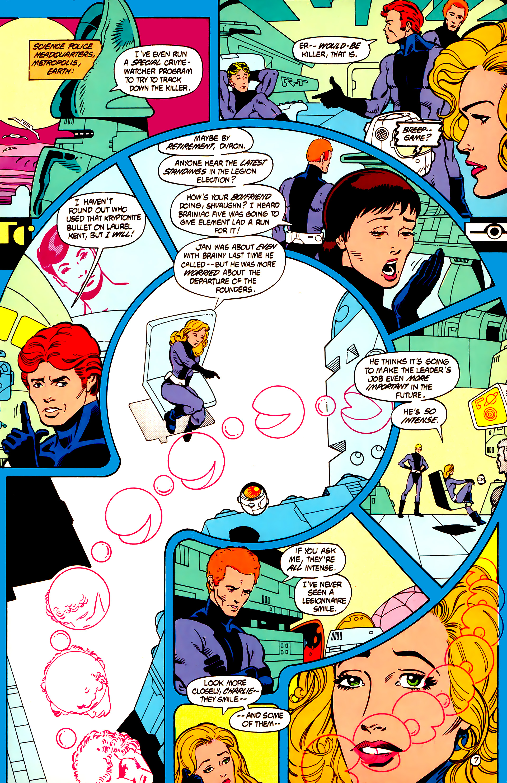 Legion of Super-Heroes (1984) 12 Page 20