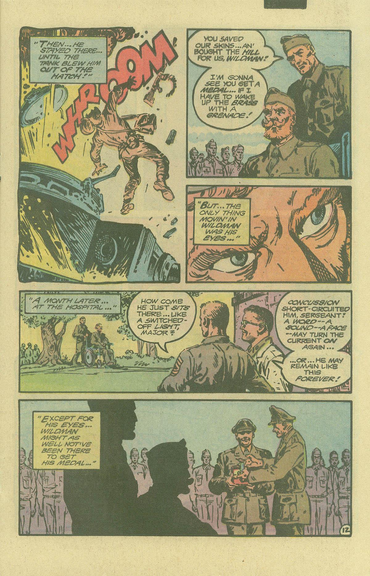 Read online Sgt. Rock comic -  Issue #402 - 16