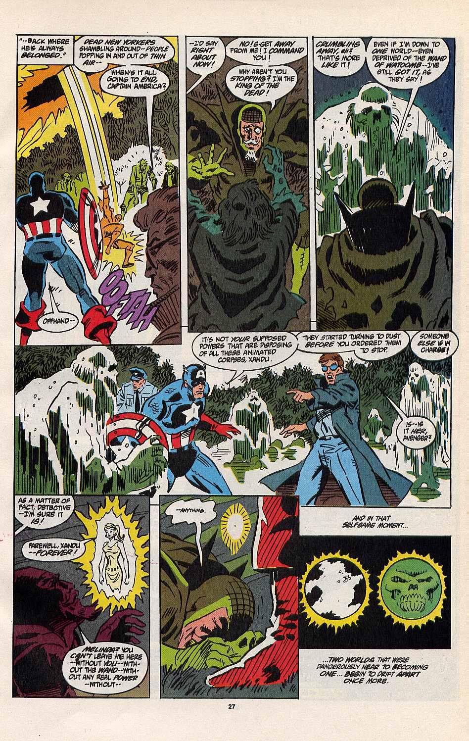 Read online Secret Defenders comic -  Issue #8 - 20