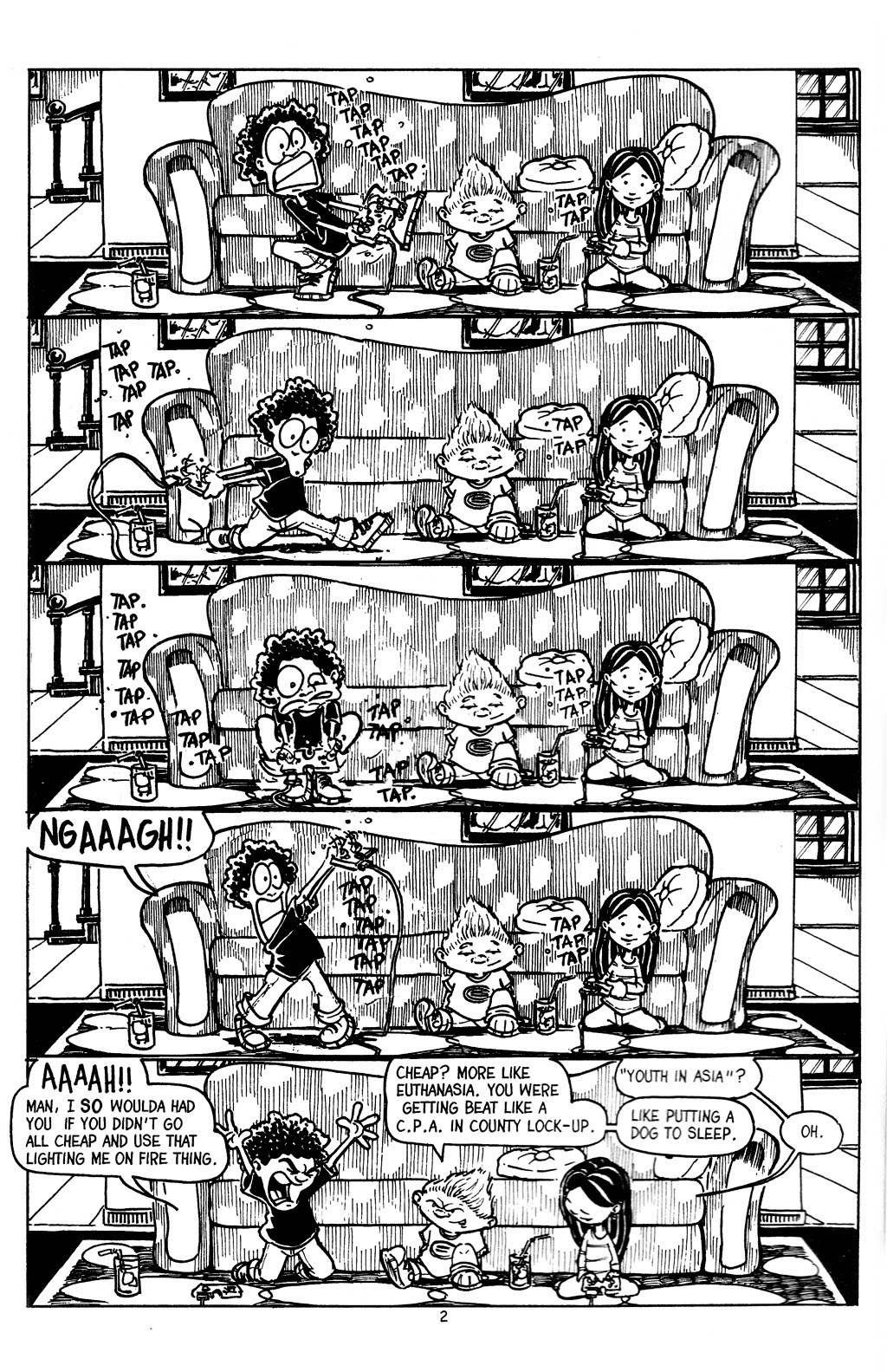 Read online The Adventures of Barry Ween, Boy Genius 3: Monkey Tales comic -  Issue #4 - 4