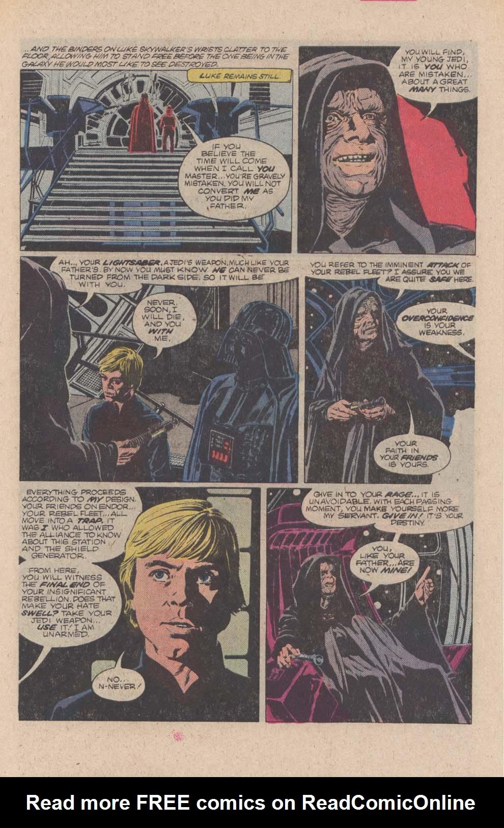 Read online Star Wars: Return of the Jedi comic -  Issue #4 - 6