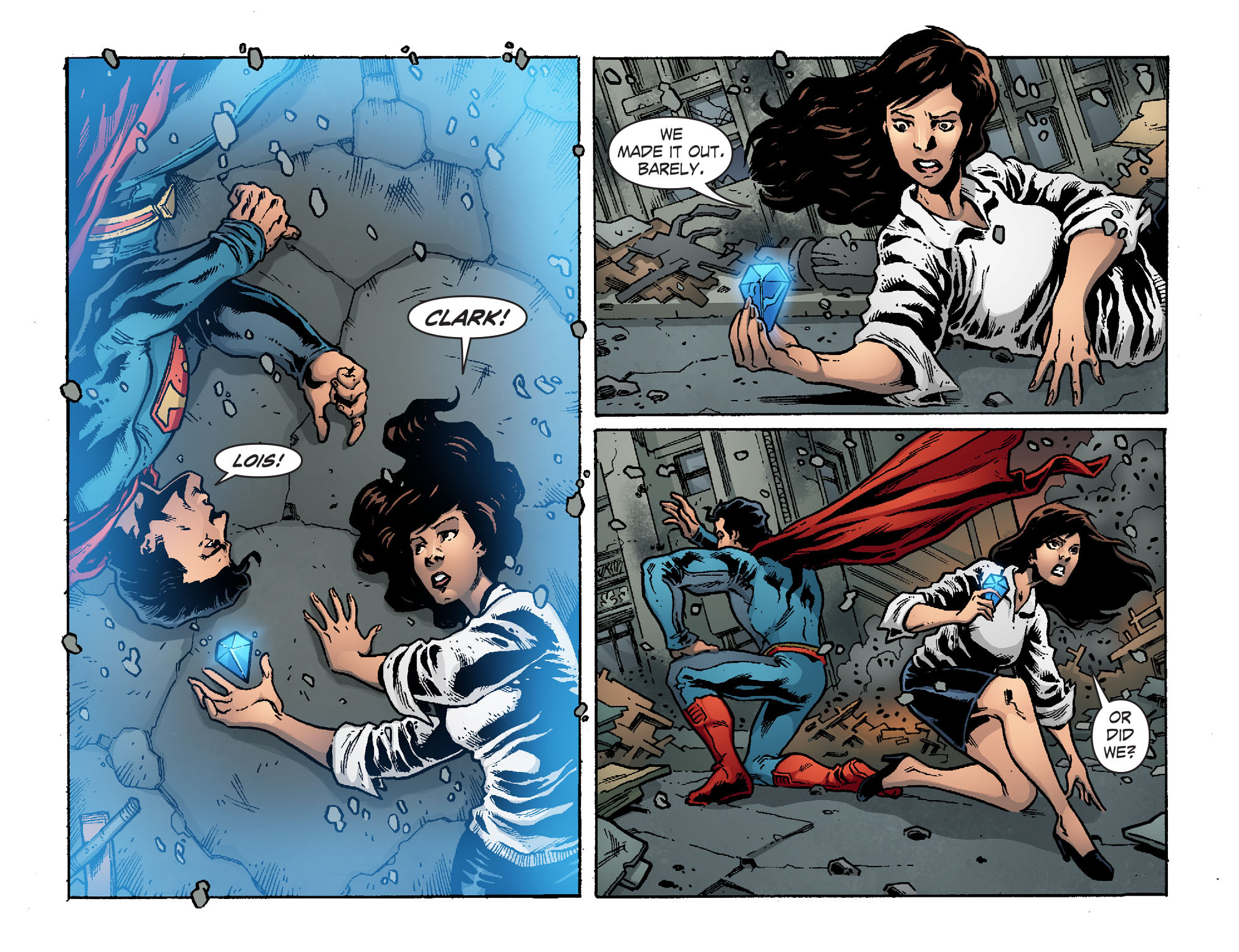 Read online Smallville: Chaos [II] comic -  Issue #6 - 19