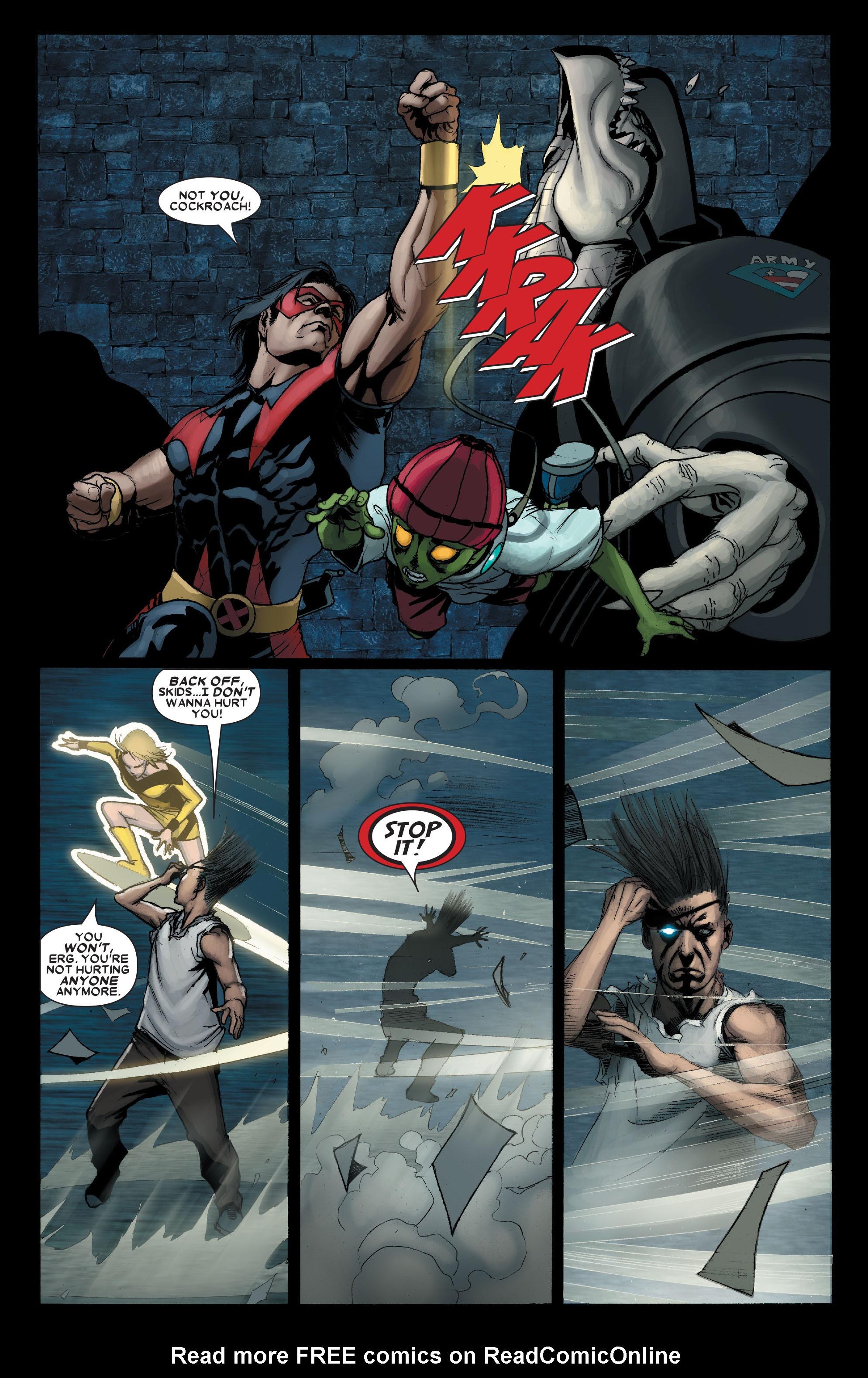 Read online Uncanny X-Men (1963) comic -  Issue #491 - 14