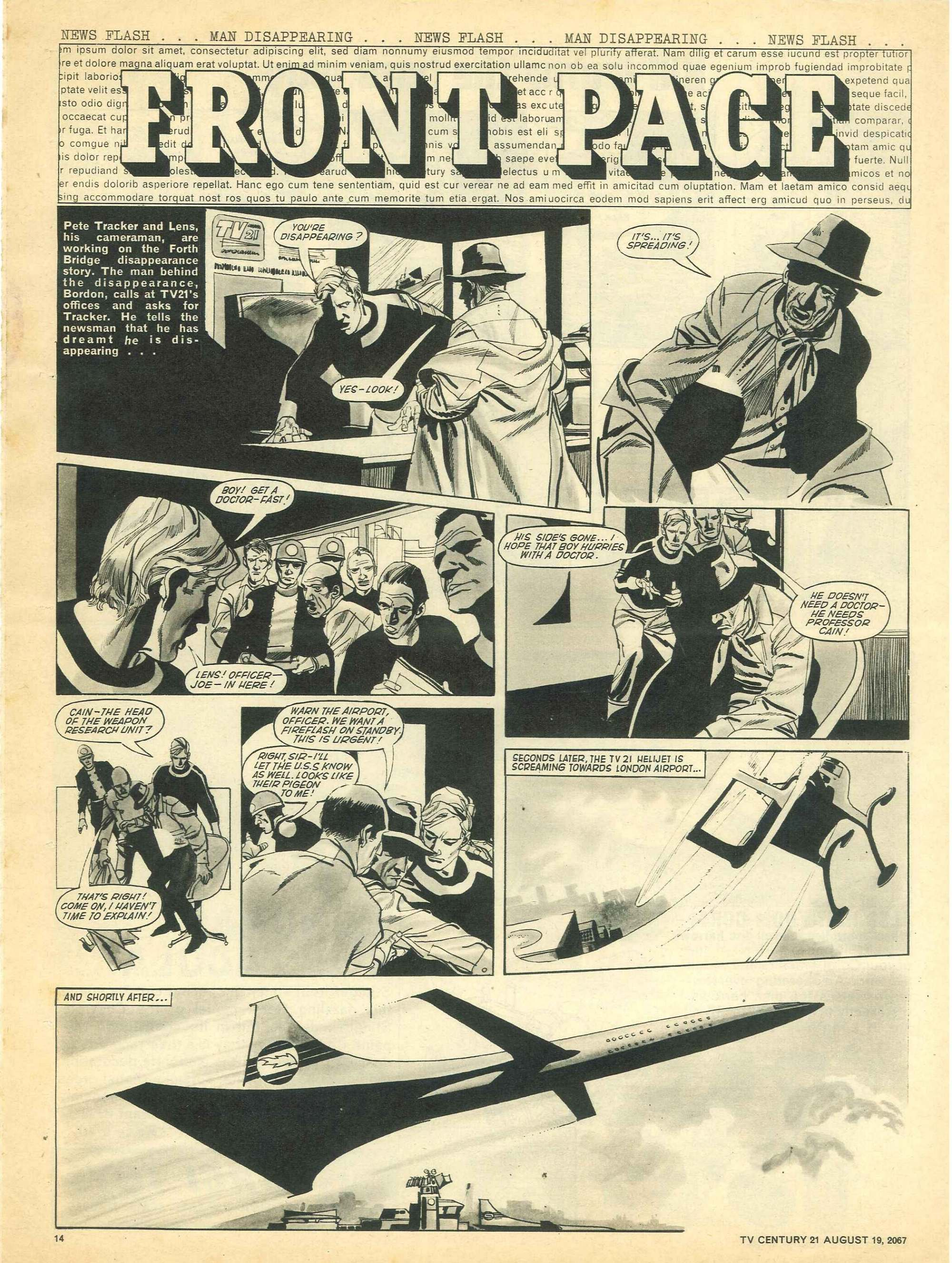 Read online TV Century 21 (TV 21) comic -  Issue #135 - 13