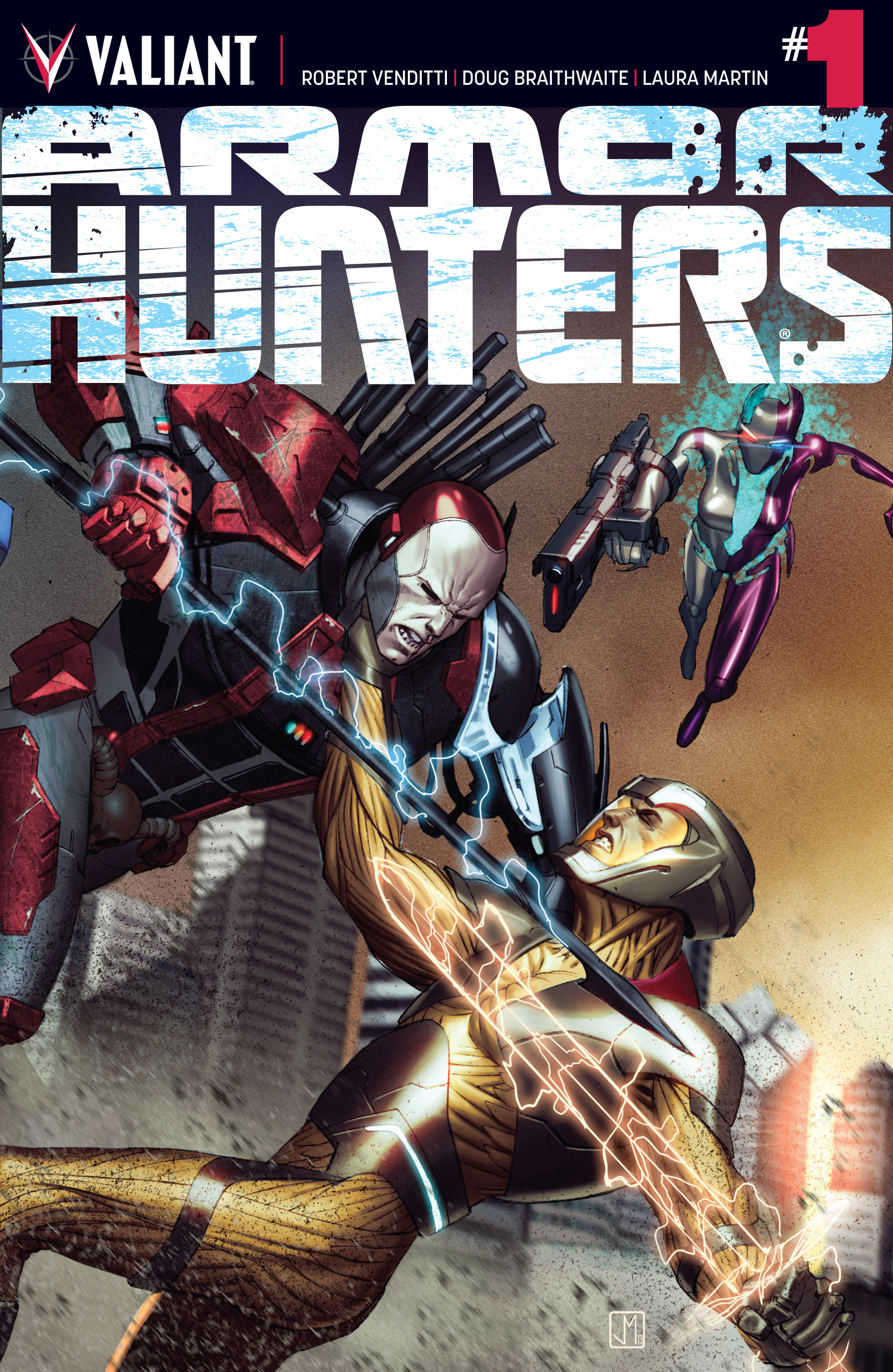 Read online Armor Hunters comic -  Issue #1 - 1