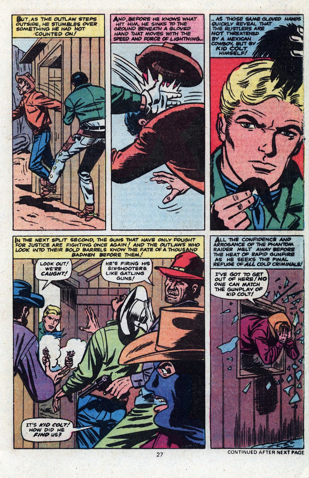 Kid Colt Outlaw issue 227 - Page 28