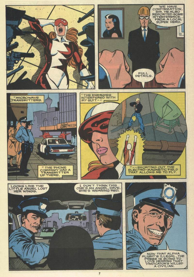Read online Alpha Flight (1983) comic -  Issue #77 - 9