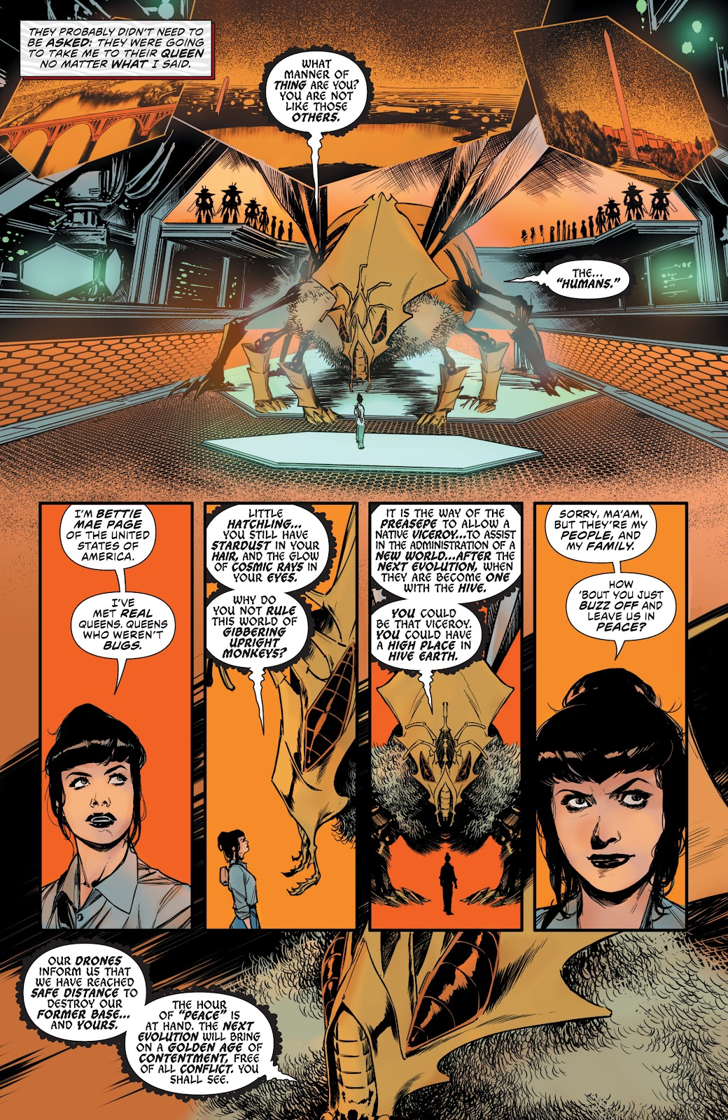 Read online Bettie Page: Unbound comic -  Issue #10 - 21