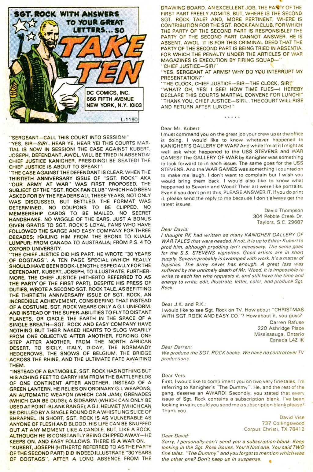 Read online Sgt. Rock comic -  Issue #373 - 32