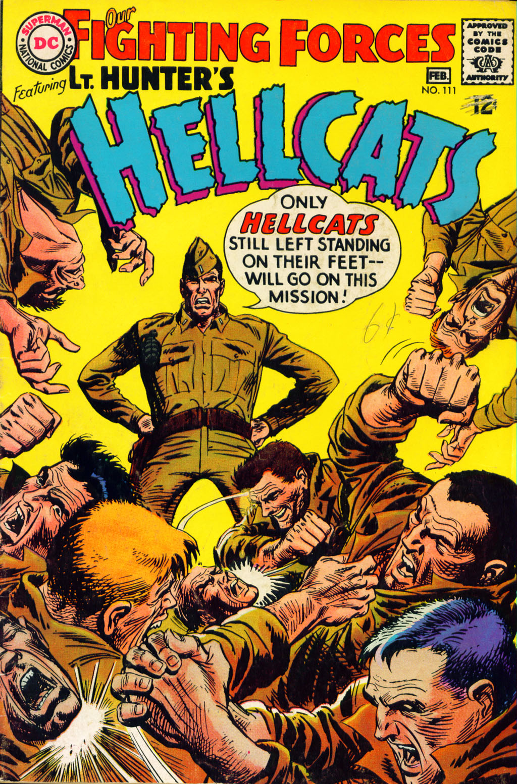 Our Fighting Forces (1954) issue 111 - Page 1