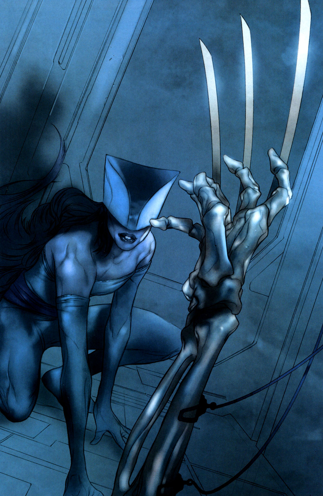 Read online Ultimatum: X-Men Requiem comic -  Issue # Full - 7