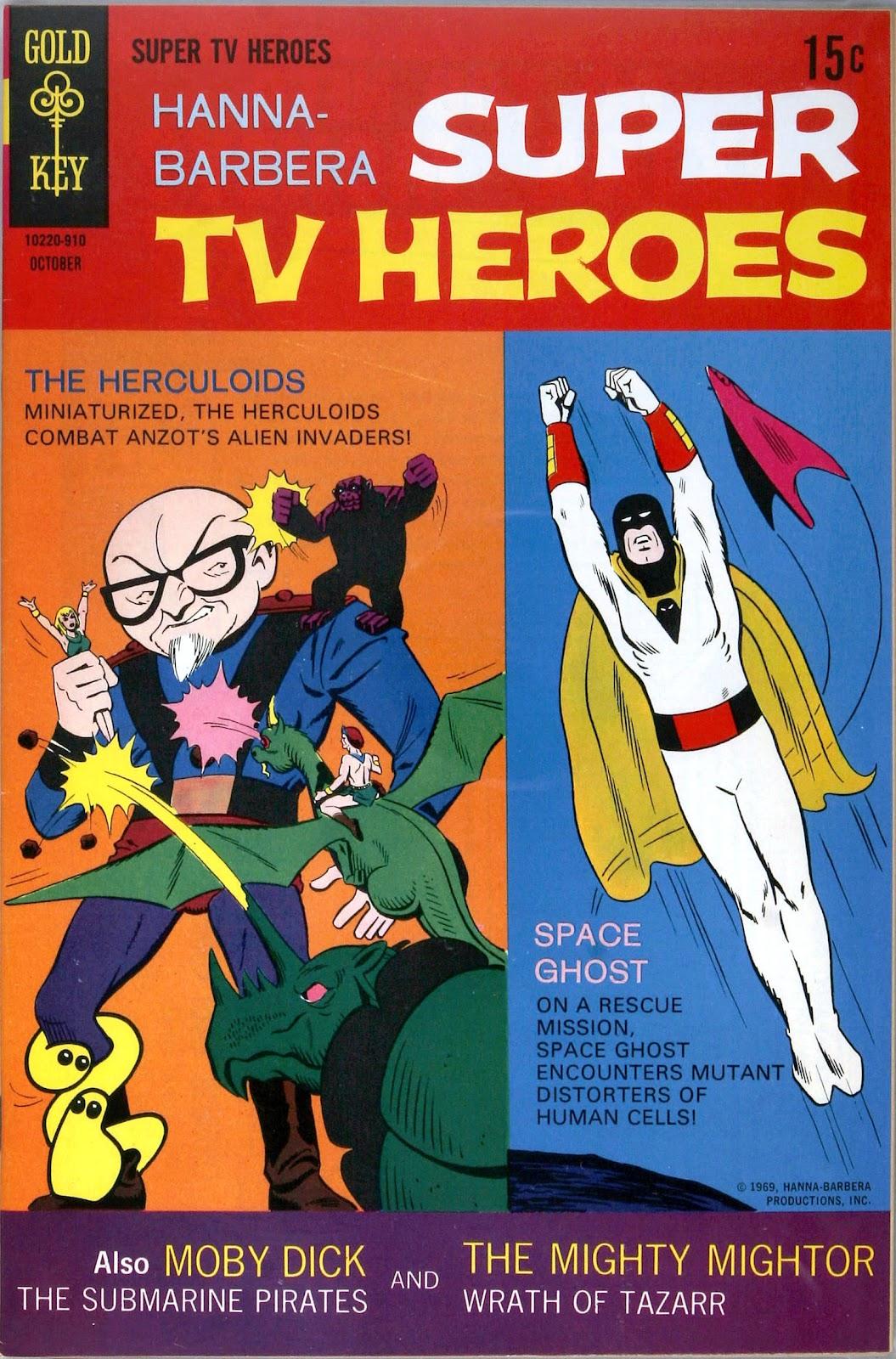Hanna-Barbera Super TV Heroes 7 Page 1